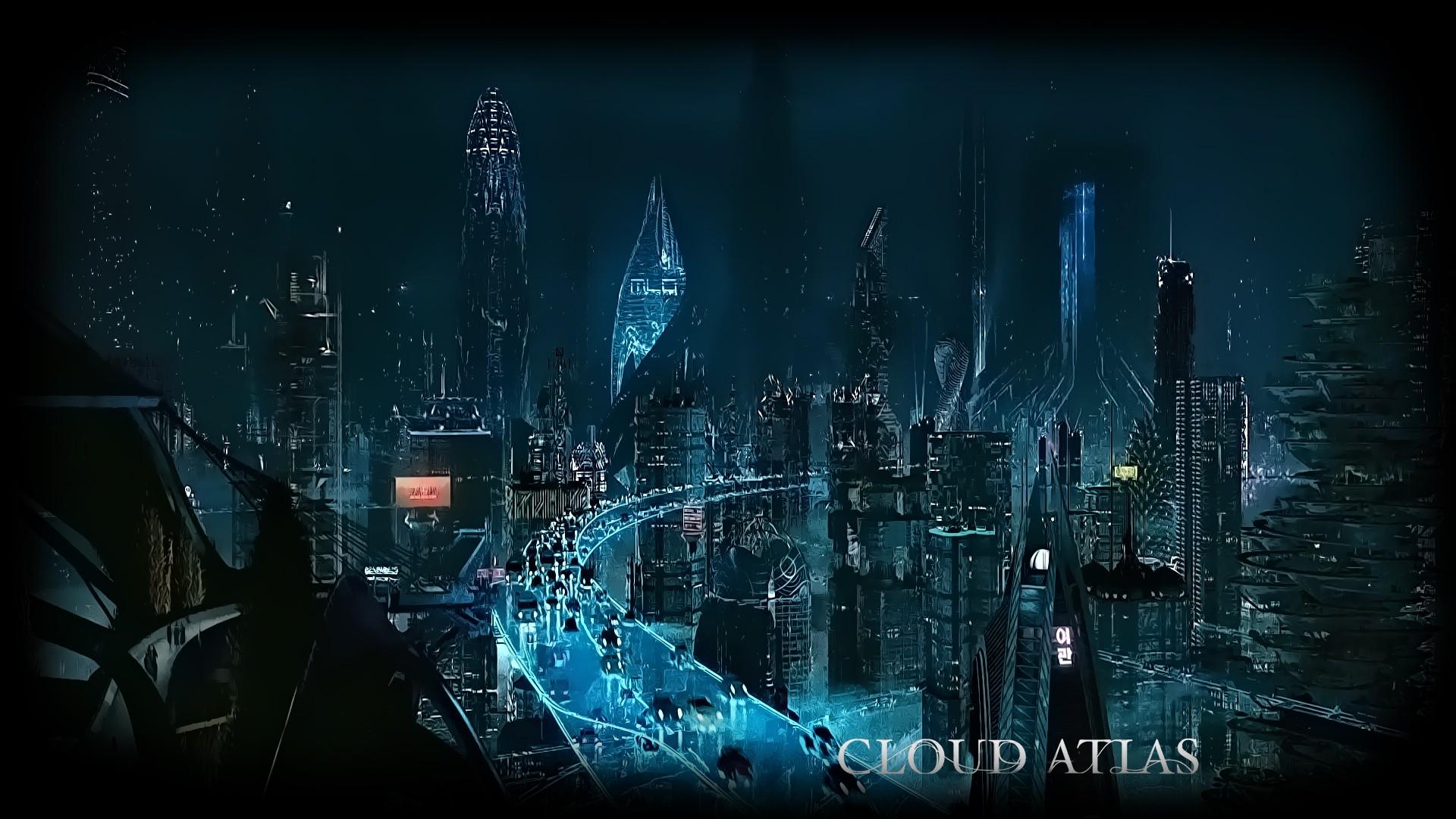 デスクトップ壁紙 車 建物 映画ポスター 超高層ビル Sf 未来