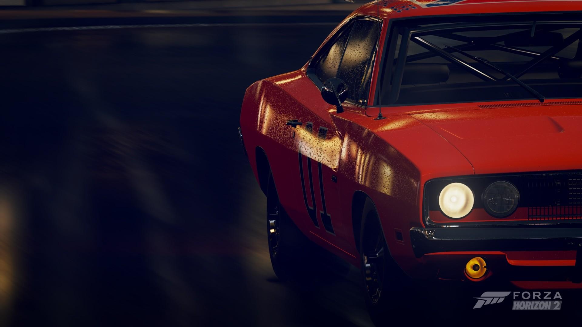 Wallpaper Night Orange Cars Sports Car Drift Forza Horizon 2
