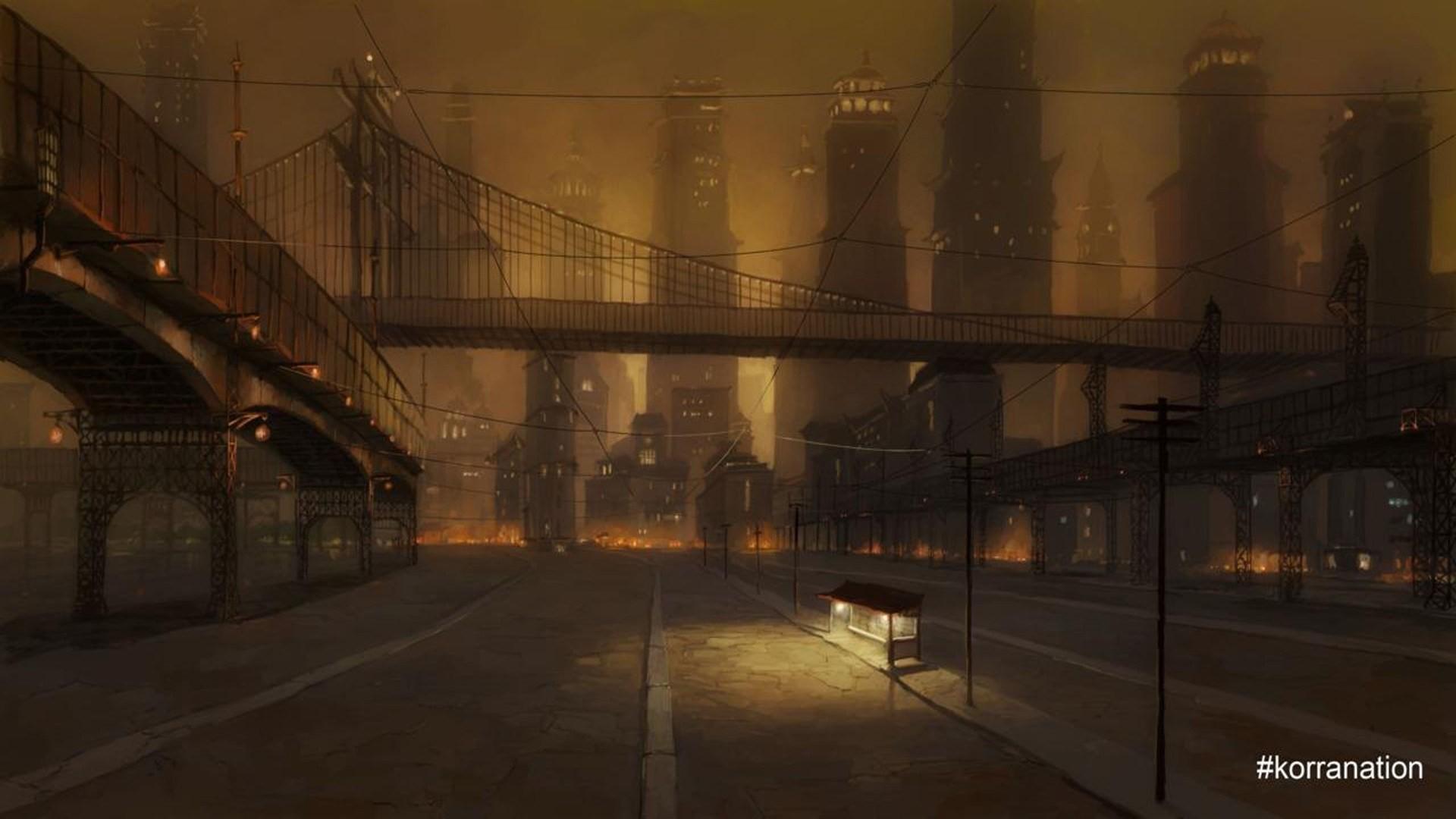 Best Wallpaper Night Evening - night-evening-bridge-The-Legend-of-Korra-Korra-midnight-Republic-City-darkness-screenshot-192719  You Should Have-896525.jpg