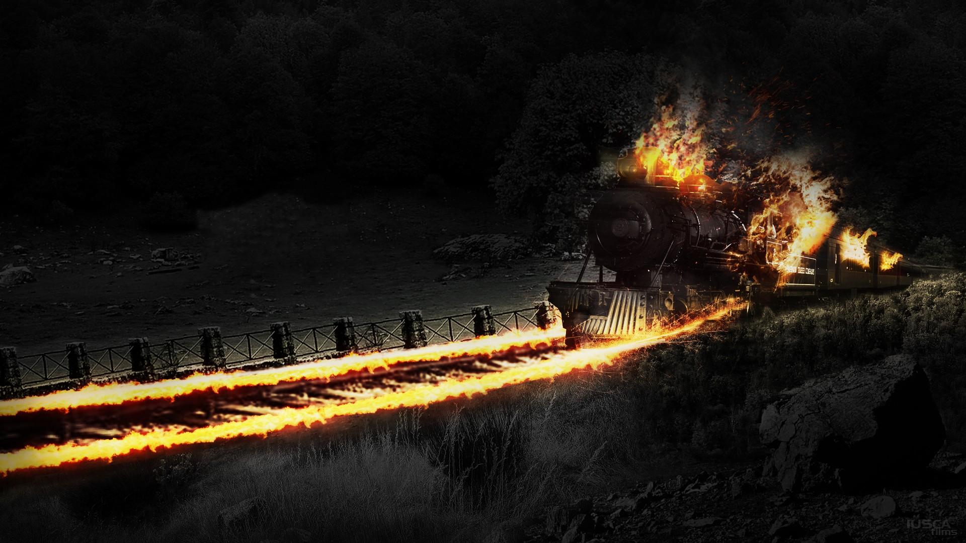 обновленном поезд в огне в картинках плавник