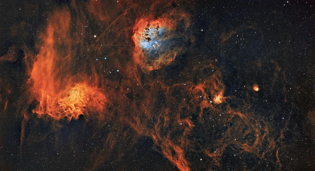 Wallpaper Night Galaxy Sky Stars Earth Nebula