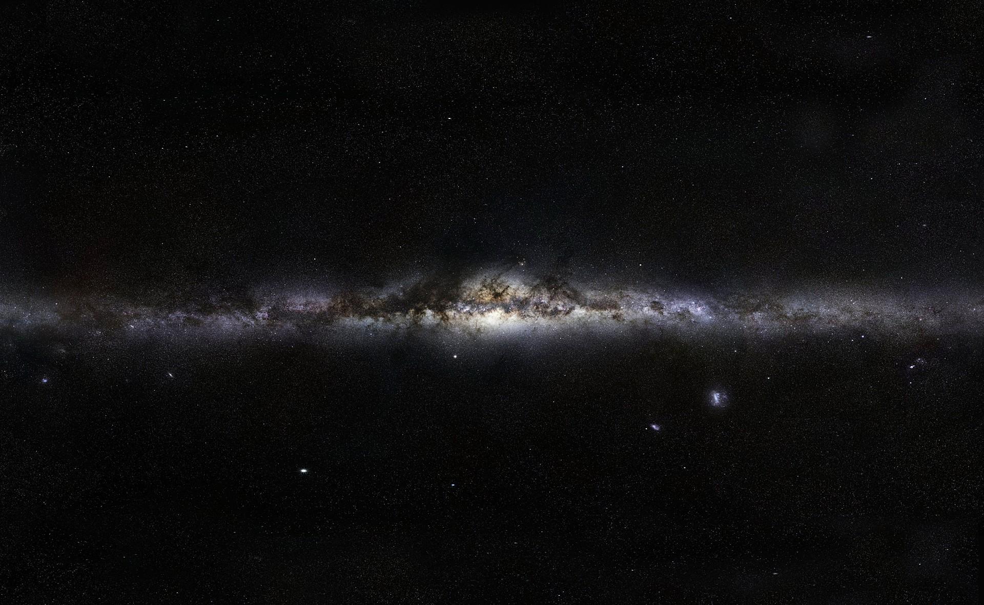 Night Galaxy Space Sky Stars Milky Way Nebula Atmosphere Spiral Astronomy Midnight Star Darkness Outer