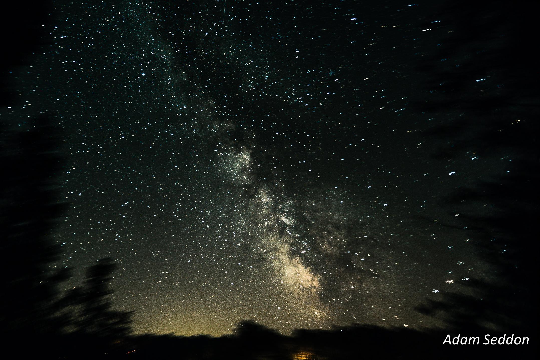 Fond Décran Nuit Galaxie Eau La Nature Espace Ciel