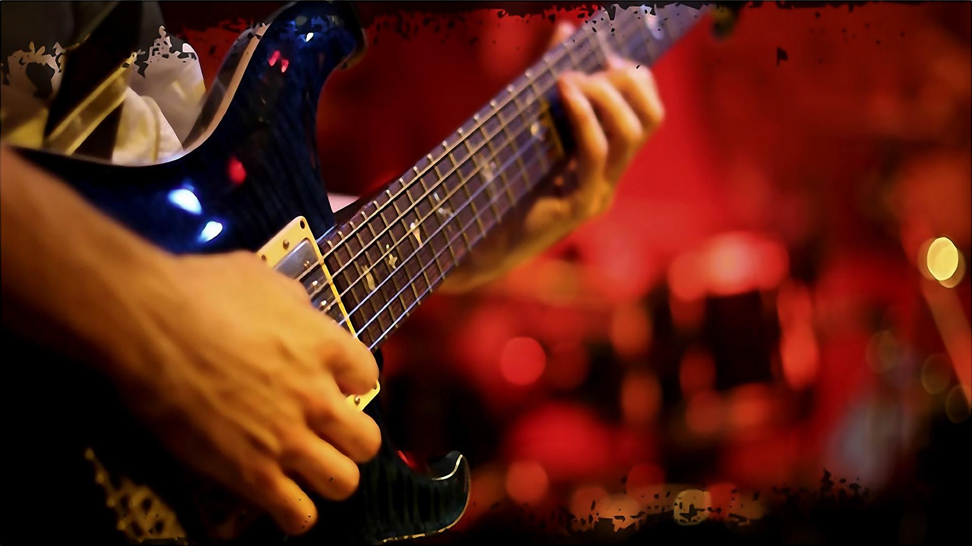Hintergrundbilder Nacht Musikinstrument Musik Musiker Gitarrist elektrische Gitarre Mann Hand Spiel Performance Dunkelheit Show