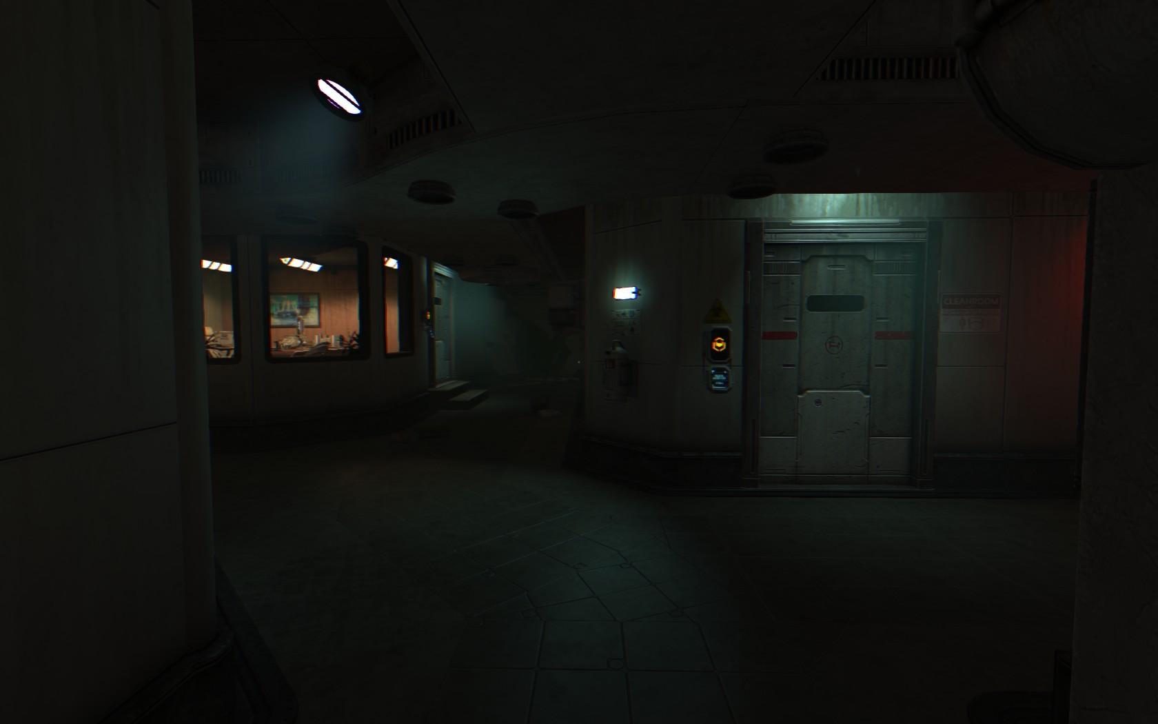 night horror midnight SOMA light lighting darkness screenshot & Wallpaper : night horror midnight SOMA light lighting darkness ...