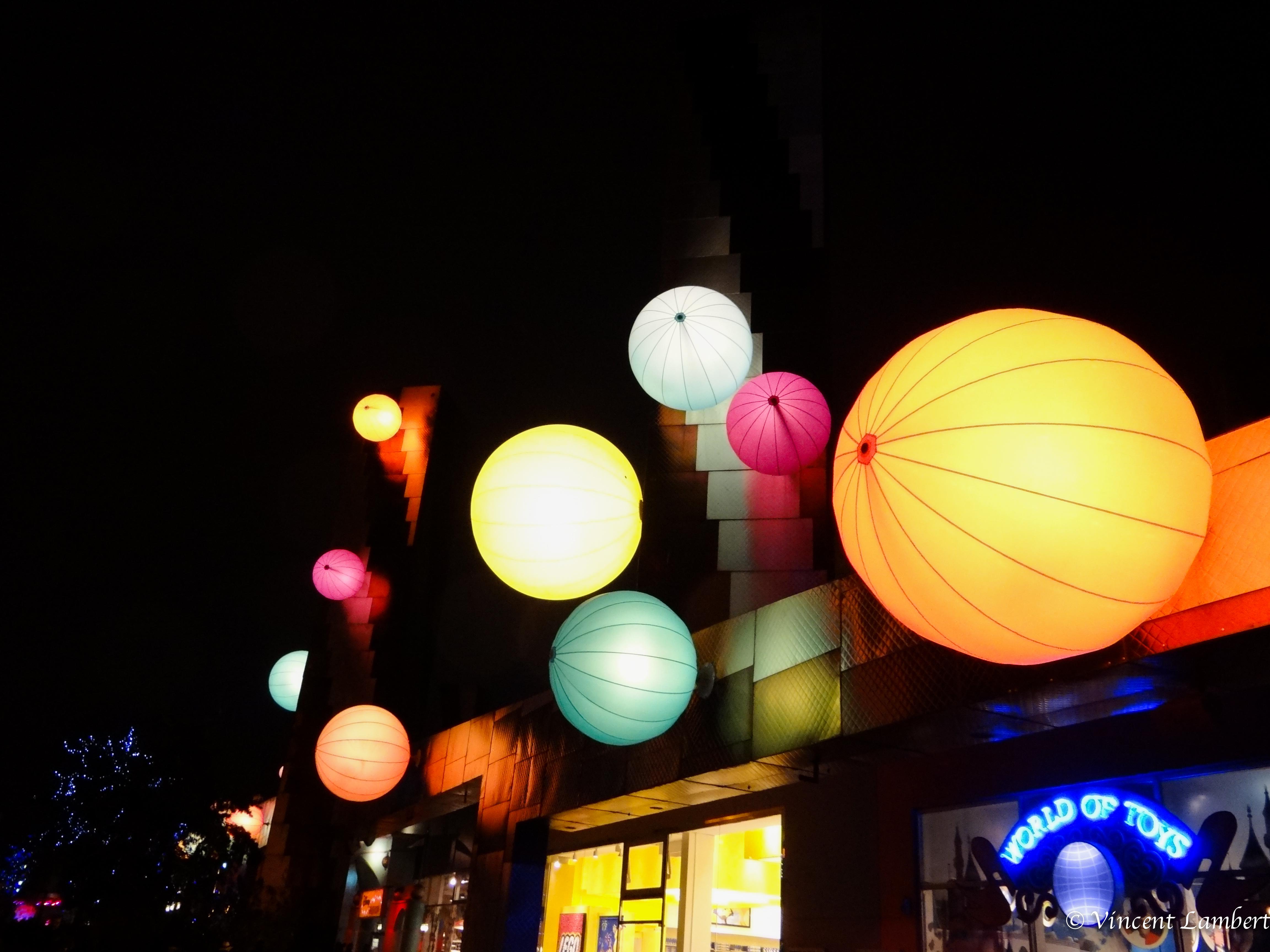 Ballonnen Met Licht : Hintergrundbilder nacht beleuchtung licht ballon laterne