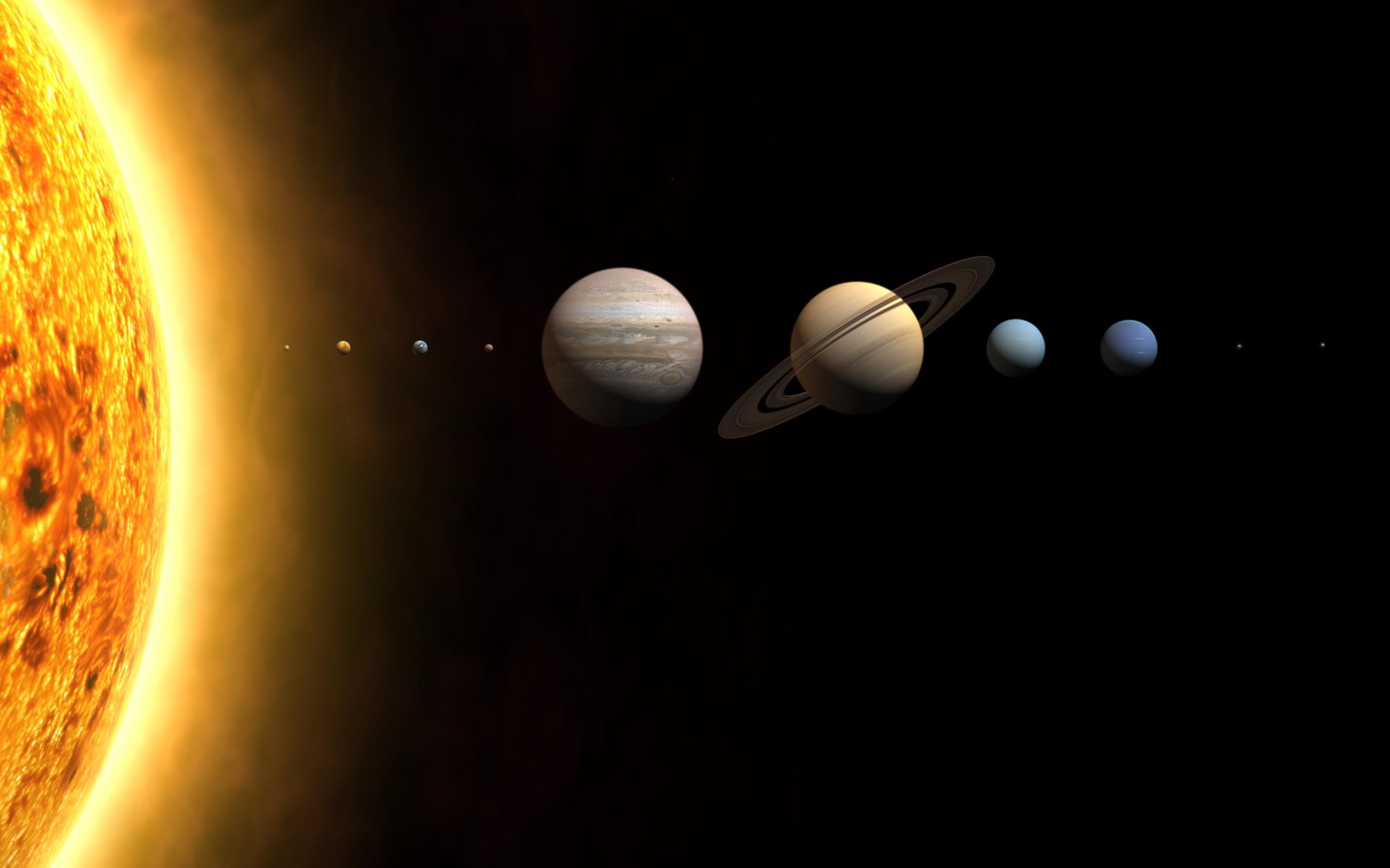 デスクトップ壁紙 夜 惑星 スペース 太陽 サークル 火星 木星 土星 天文学 光 コンピュータの壁紙 地球の雰囲気 宇宙空間 天体 2560x1600 Ludendorf デスクトップ壁紙 Wallhere