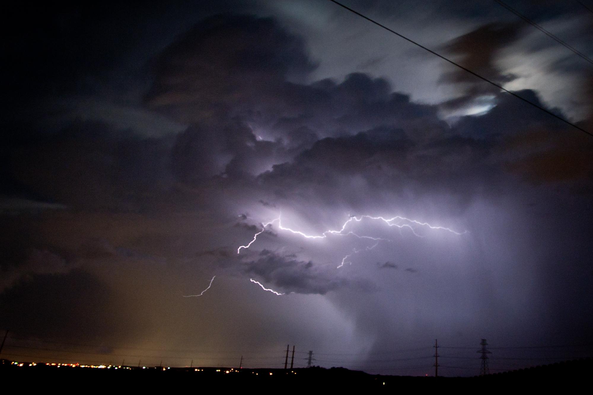 неуправляемой фото неба во время грозы крыму
