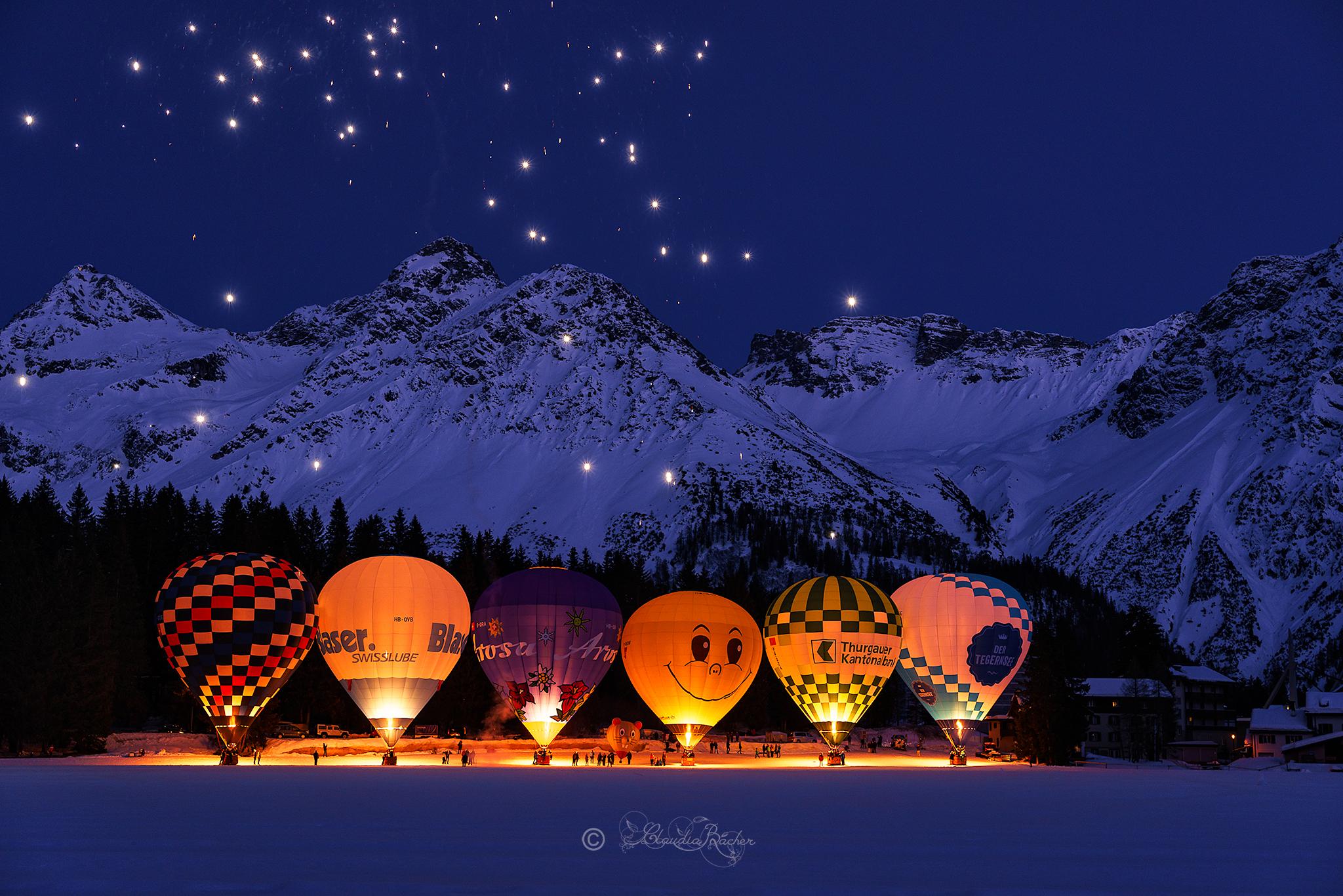 Firework Christmas Lights