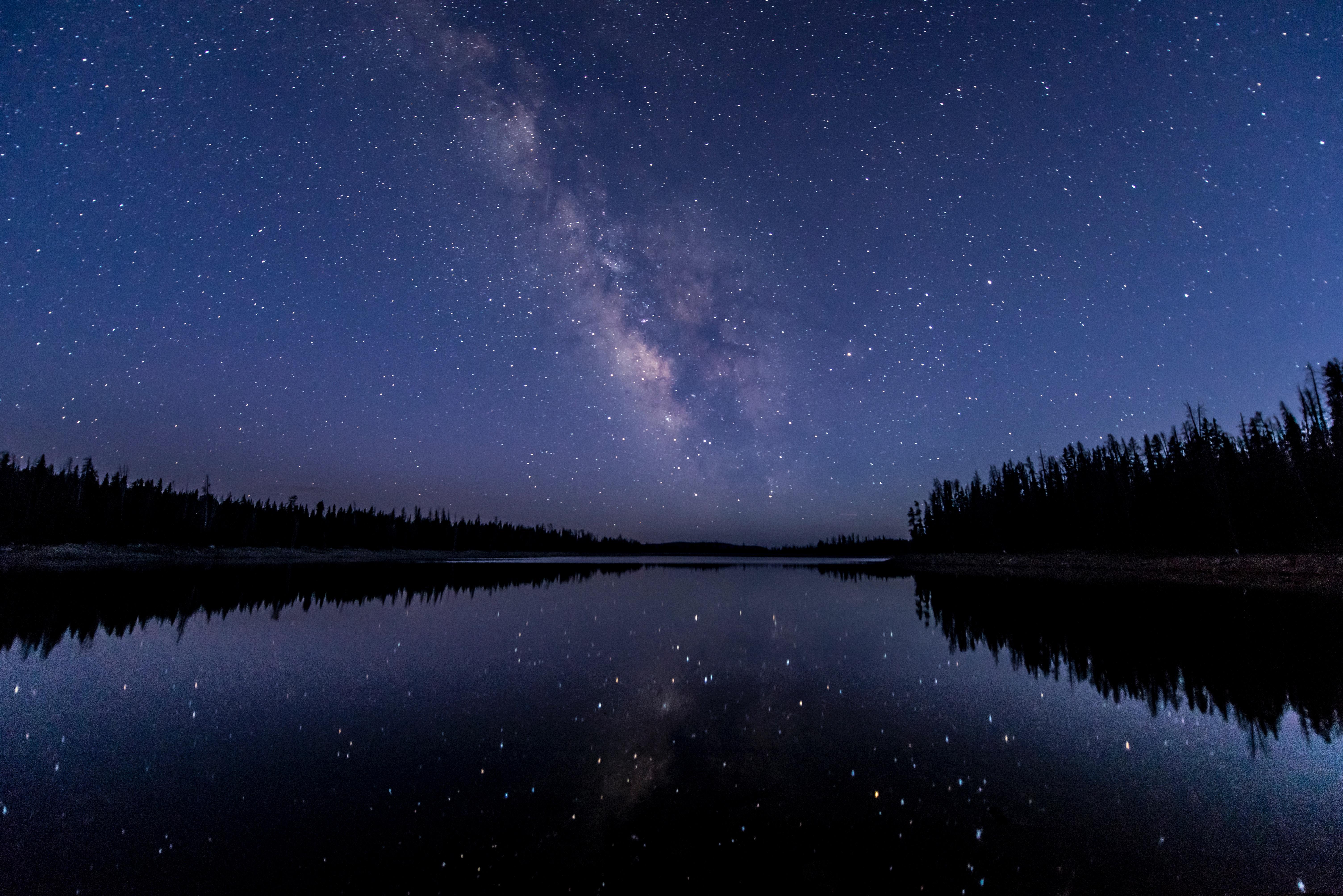 Wallpaper : night sky, stars, starry sky 6016x4016 ...