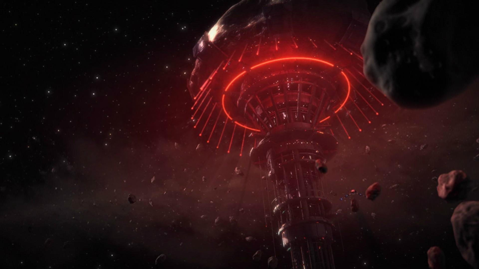 Wallpaper : night, nebula, explosion, Mass Effect 3 ...