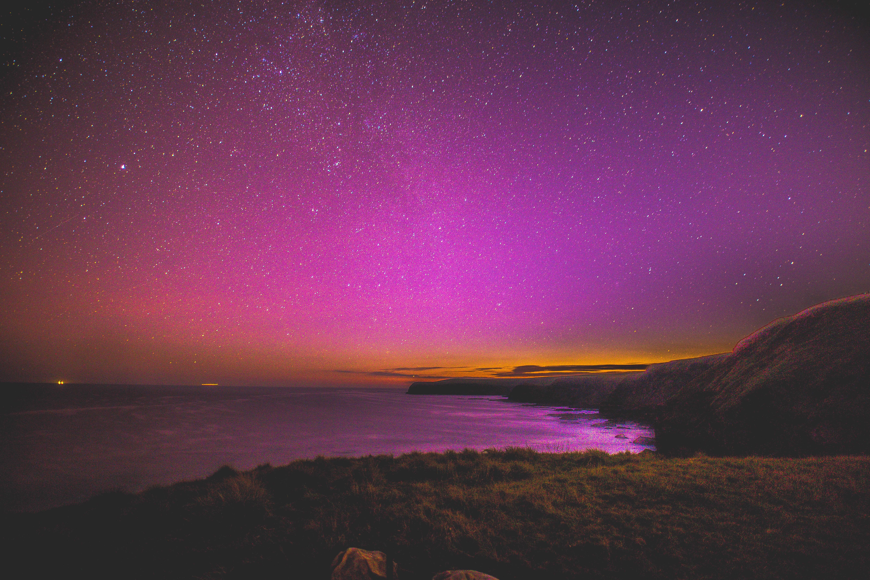 Fond d'écran : nuit, ciel étoilé, étoiles, mer, rive 5365x3577 - wallhaven - 1183644 - Fond d ...