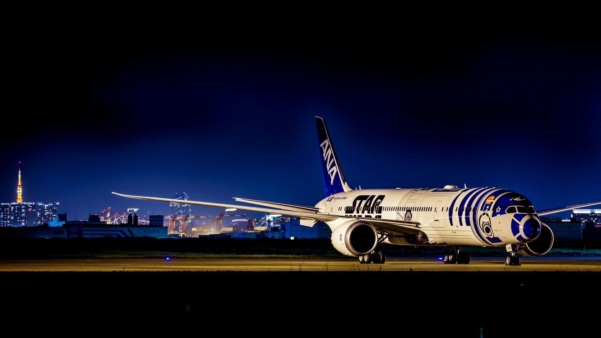 Fondos De Pantalla Noche Vehículo Fotografía Boeing 777