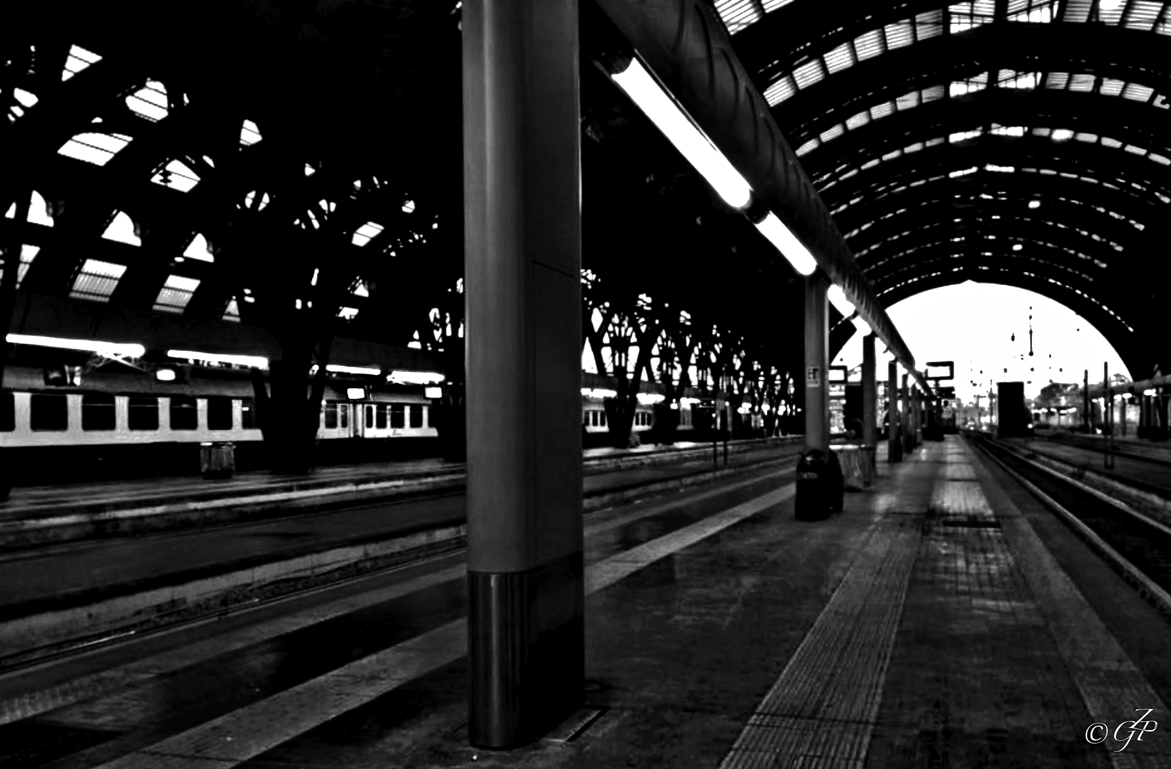 Sfondi Noire Astratto Italia Stazione Ferroviaria Ferrovia