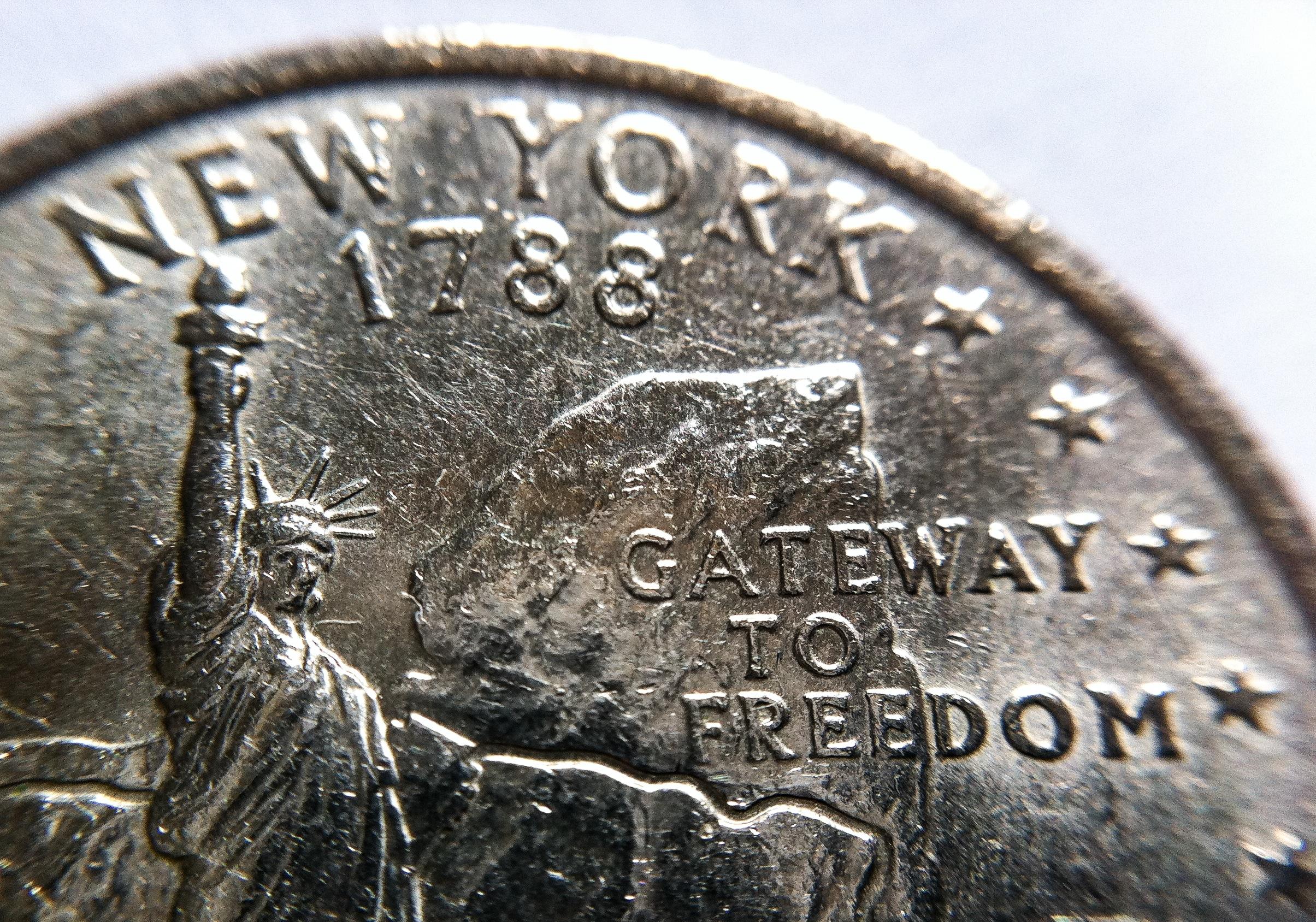 Hintergrundbilder Nyc Newyorkcity New York Geld Makro Münze