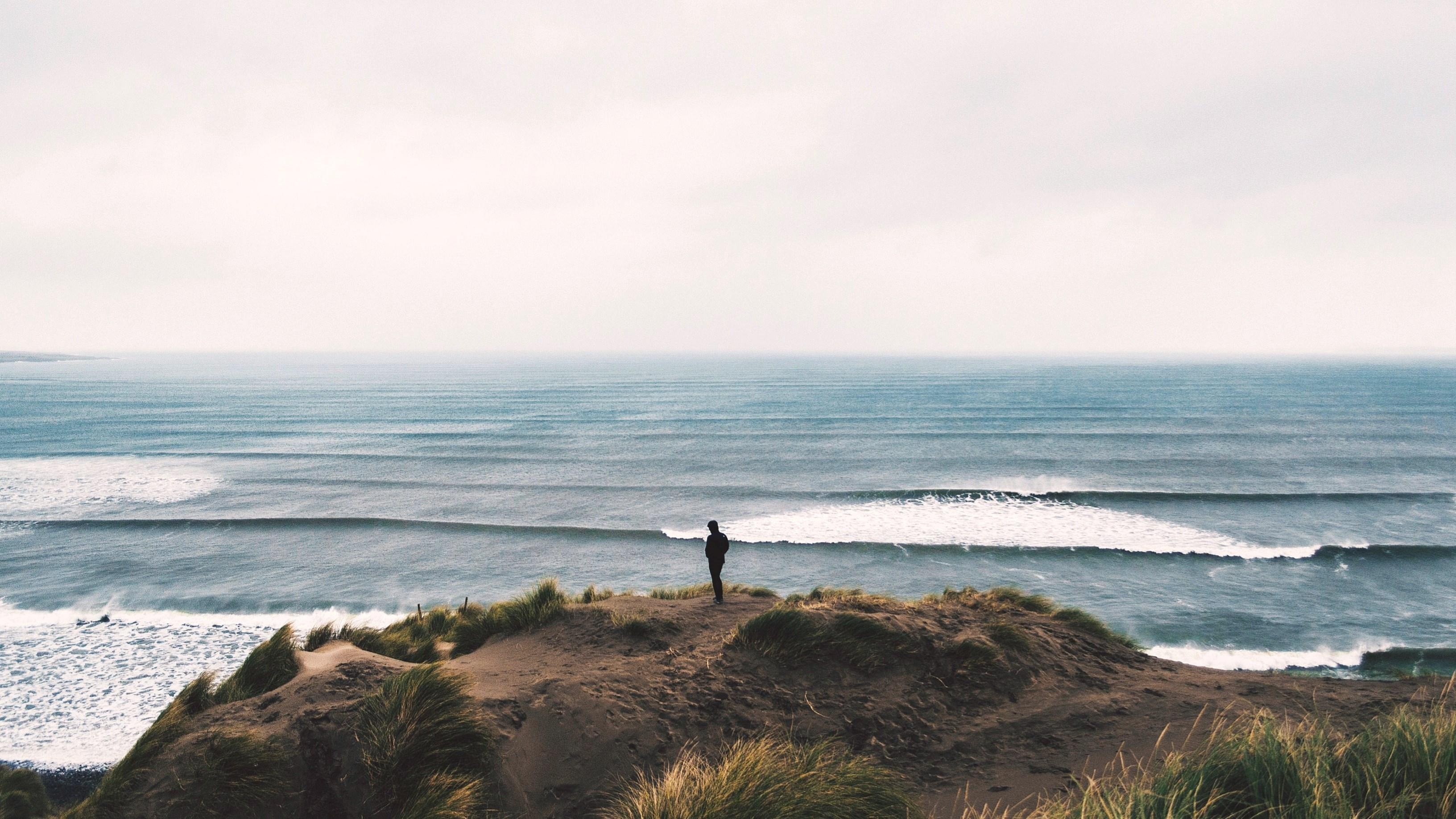 Wallpaper Ocean Ireland Shadow Sea Mountain Seascape