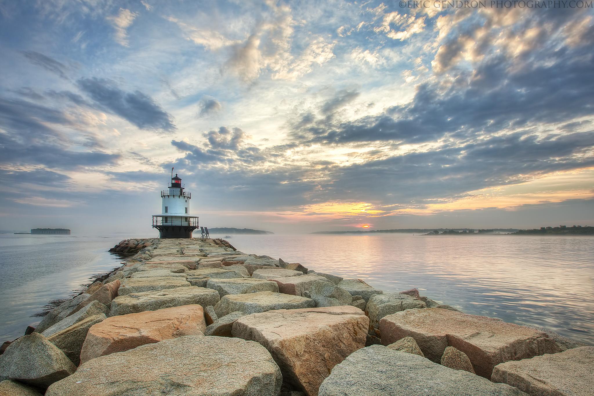 Wallpaper : ocean, morning, light, cliff, cloud, lighthouse