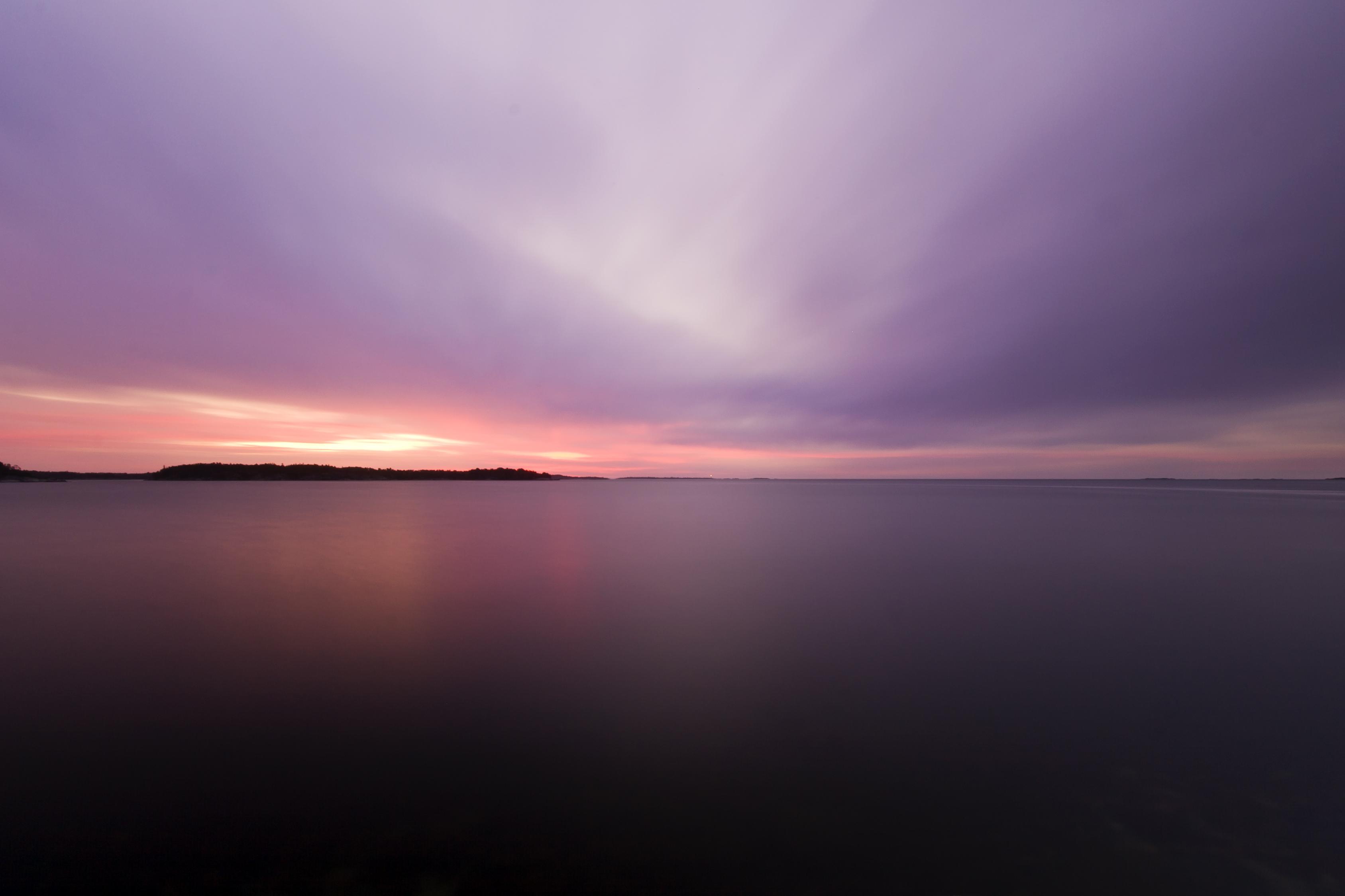 Sfondi Oceano Rosa Mare Natura Nuvole Alba Costa Crepuscolo