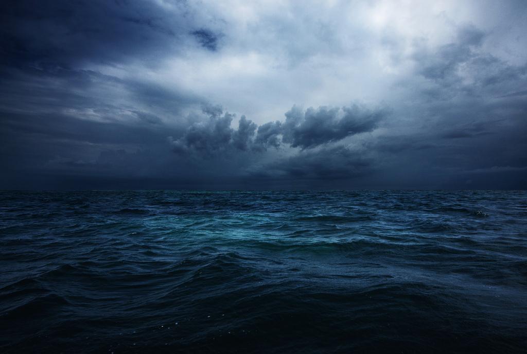 Wallpaper Ocean Storm Clouds Tanzania Indian Explore