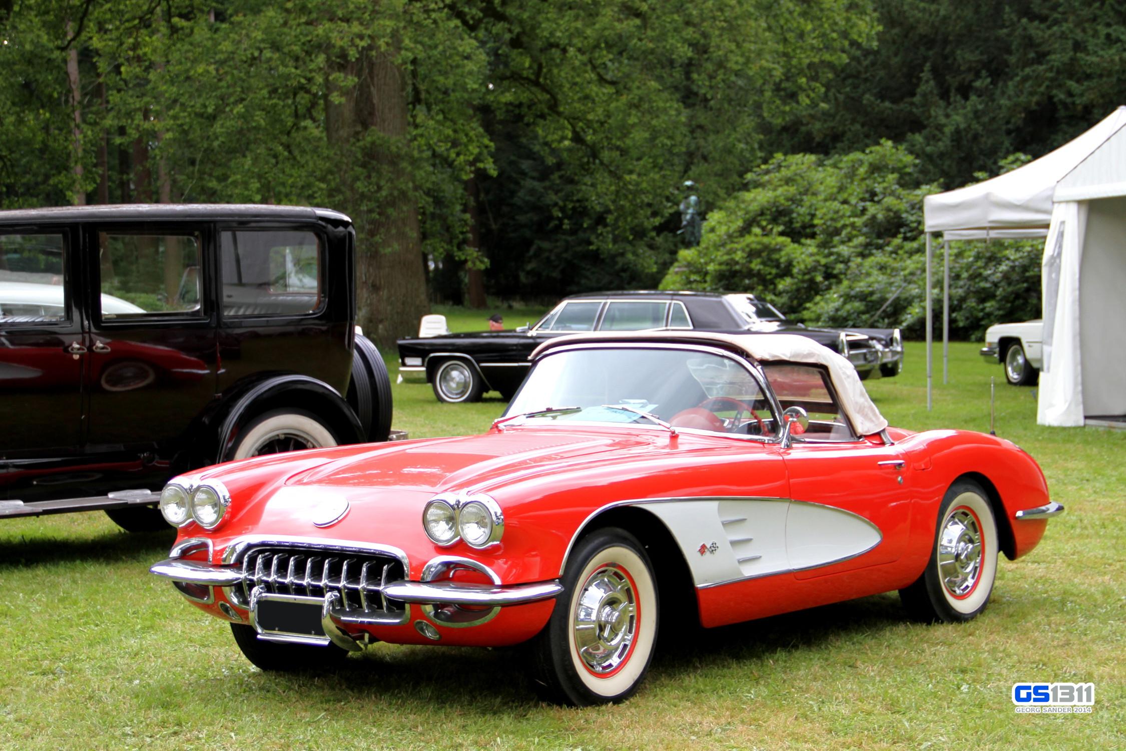 Wallpaper : old, red, sports car, Vintage car, Corvette, Chevrolet ...