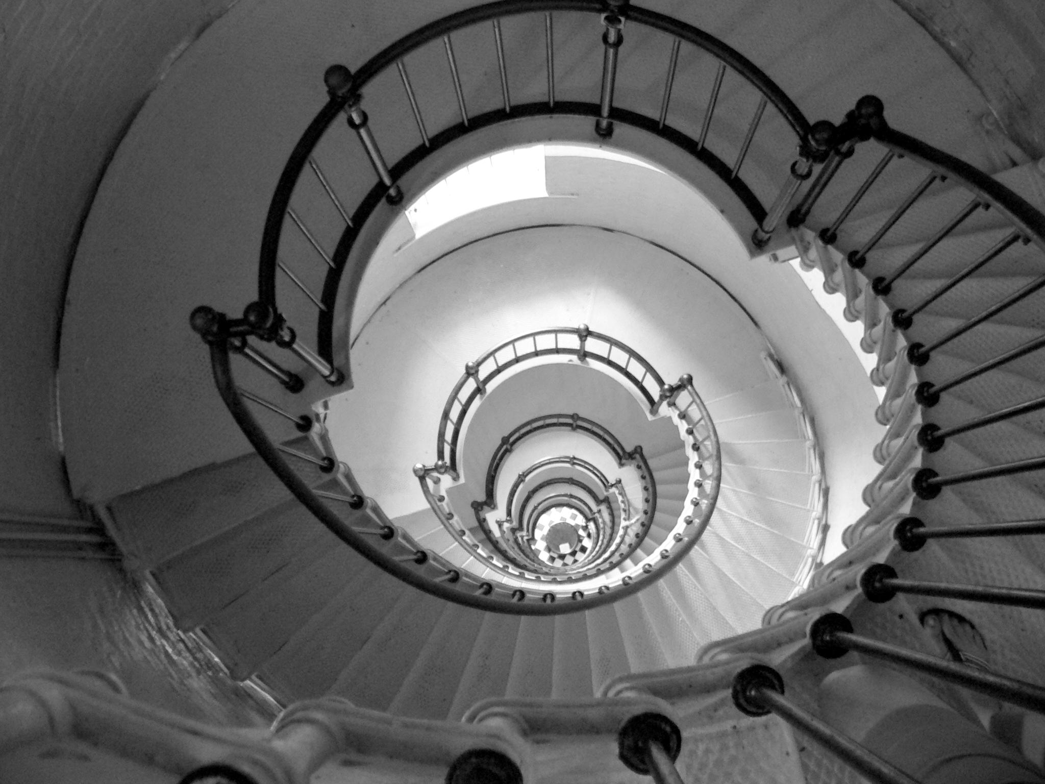 fond d 39 cran vieux monochrome spirale sym trie cercle escalier cambre escaliers. Black Bedroom Furniture Sets. Home Design Ideas