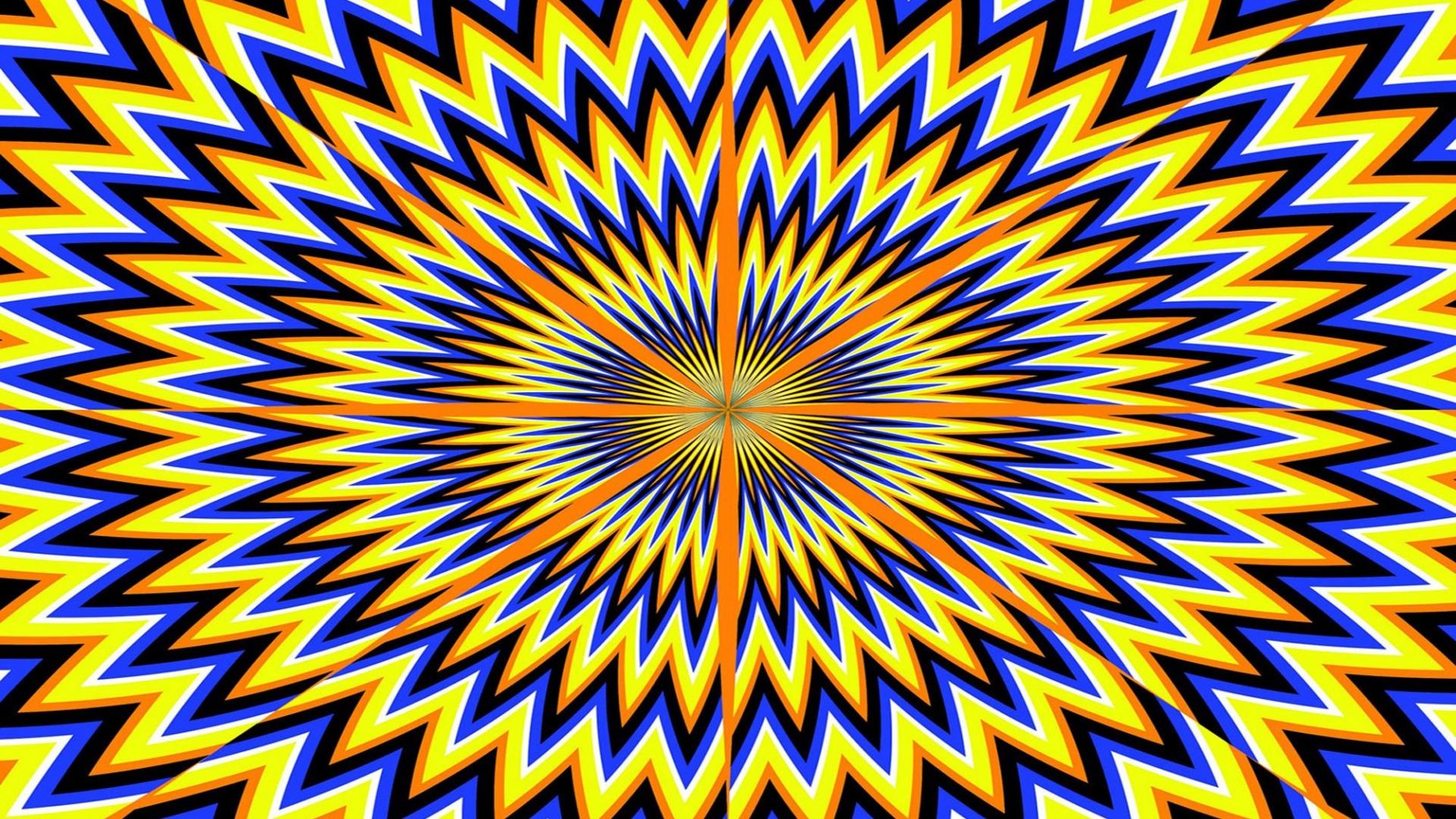 Wallpaper Optical Illusion Digital Art