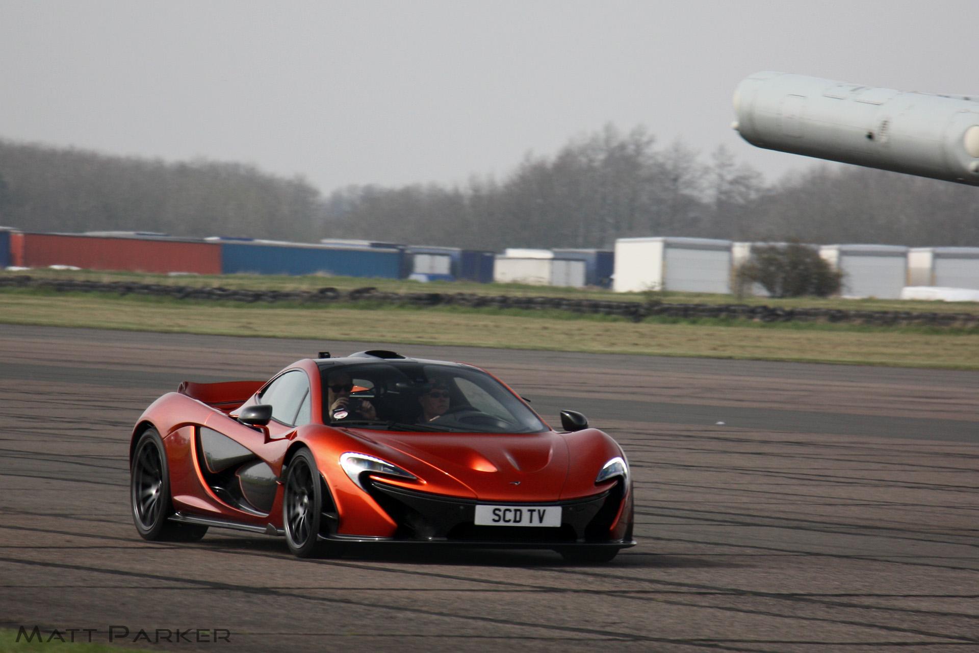 orange paul volcano secret McLaren bailey Driver Hybrid runway meet supercar p1 scd bruntingthorpe Hypercar 984373