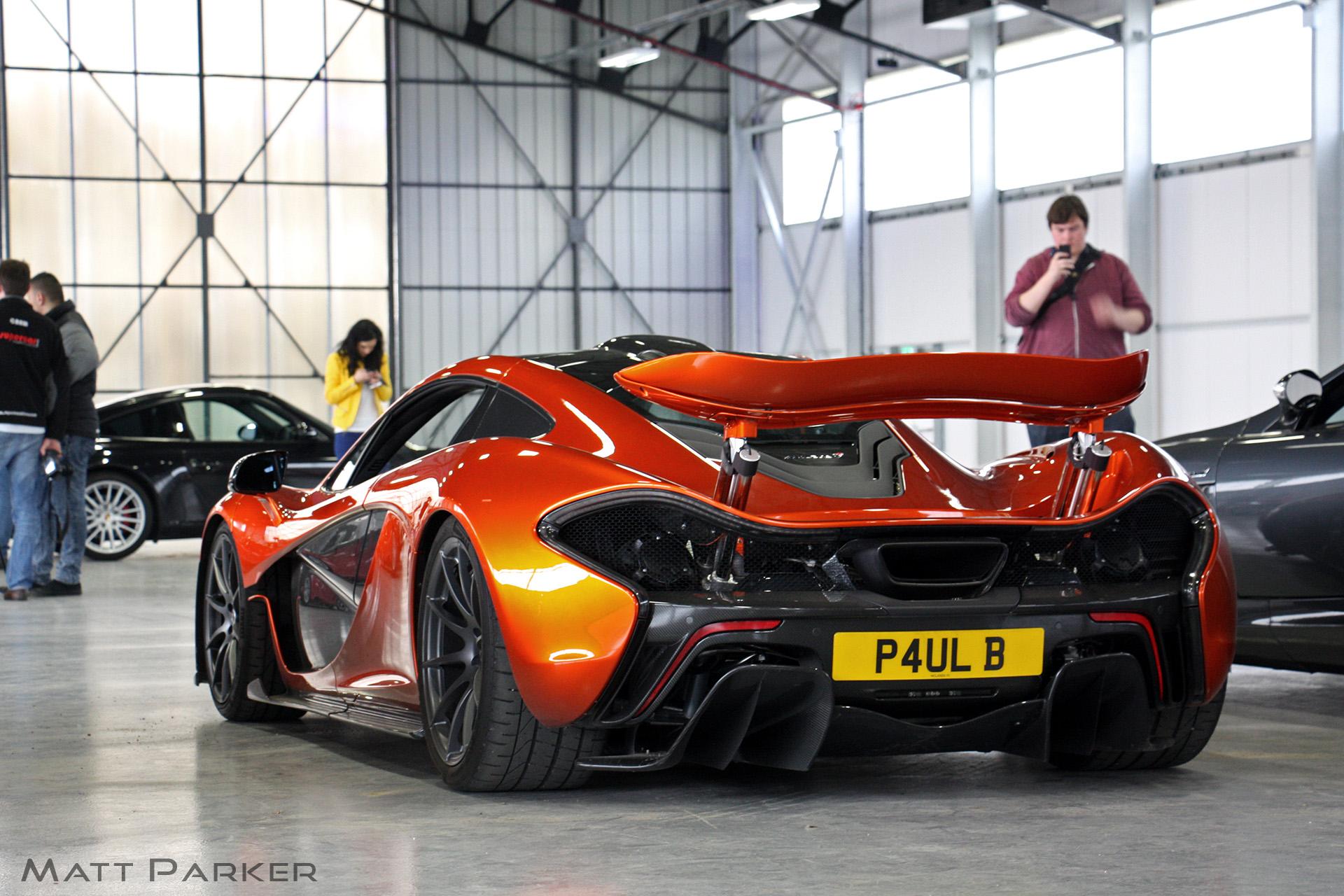 orange volcano McLaren Rare p1 Hypercar 984418