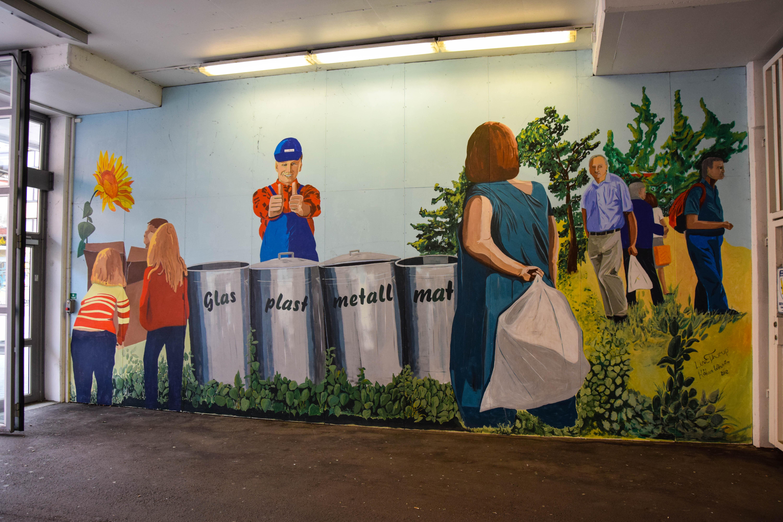 Fond D écran La Peinture Garage Mural Communauté