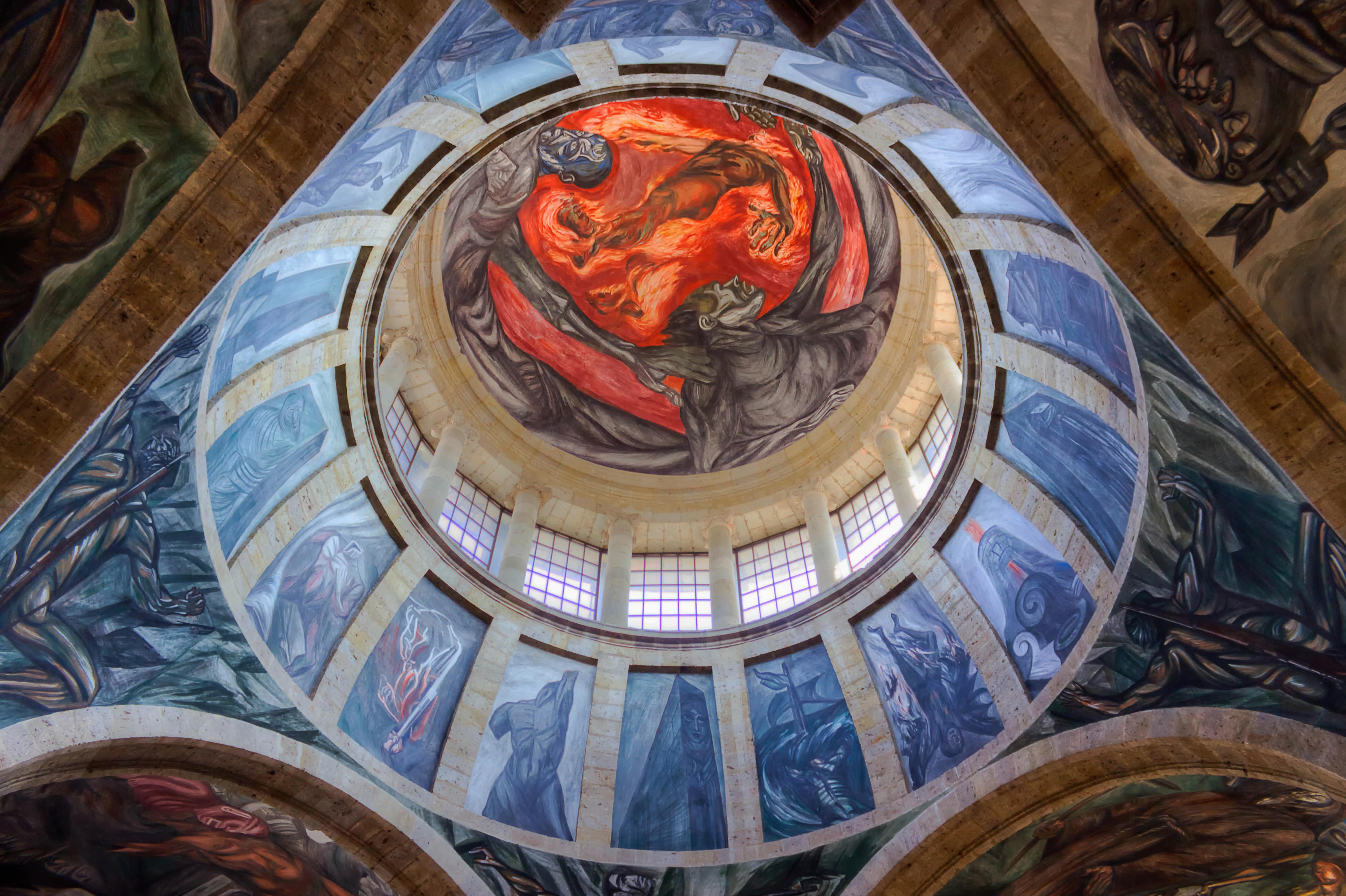 Fondos de pantalla pintura m jico mural guadalajara for El mural guadalajara jalisco