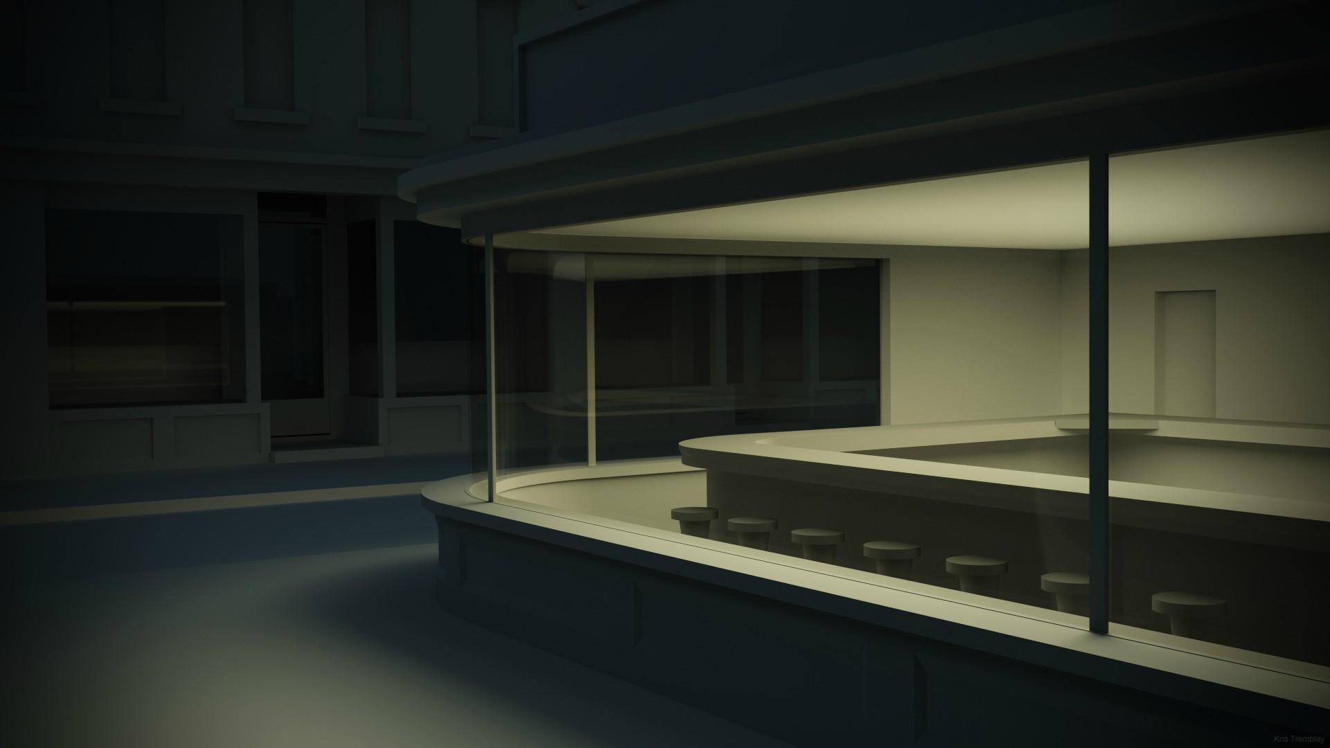 Hintergrundbilder : Malerei, die Architektur, Zimmer, CGI, Haus ...