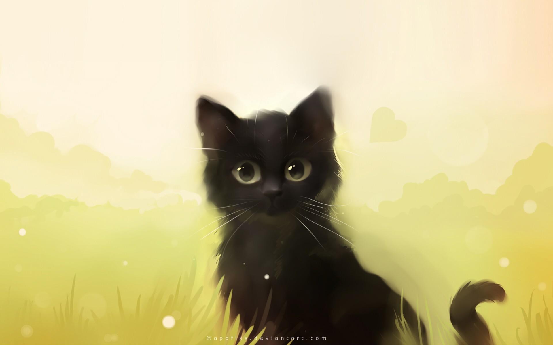Velké černé kočky obrázky