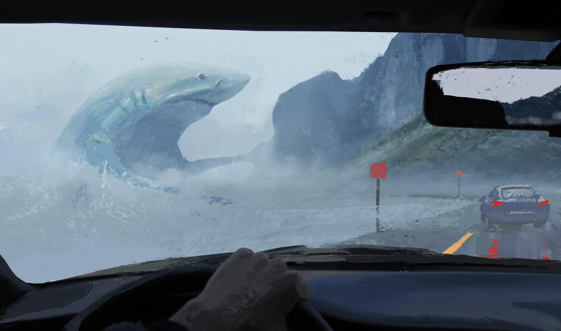 Masaüstü Boyama Dijital Sanat Hayvanlar Fantezi Sanatı Deniz