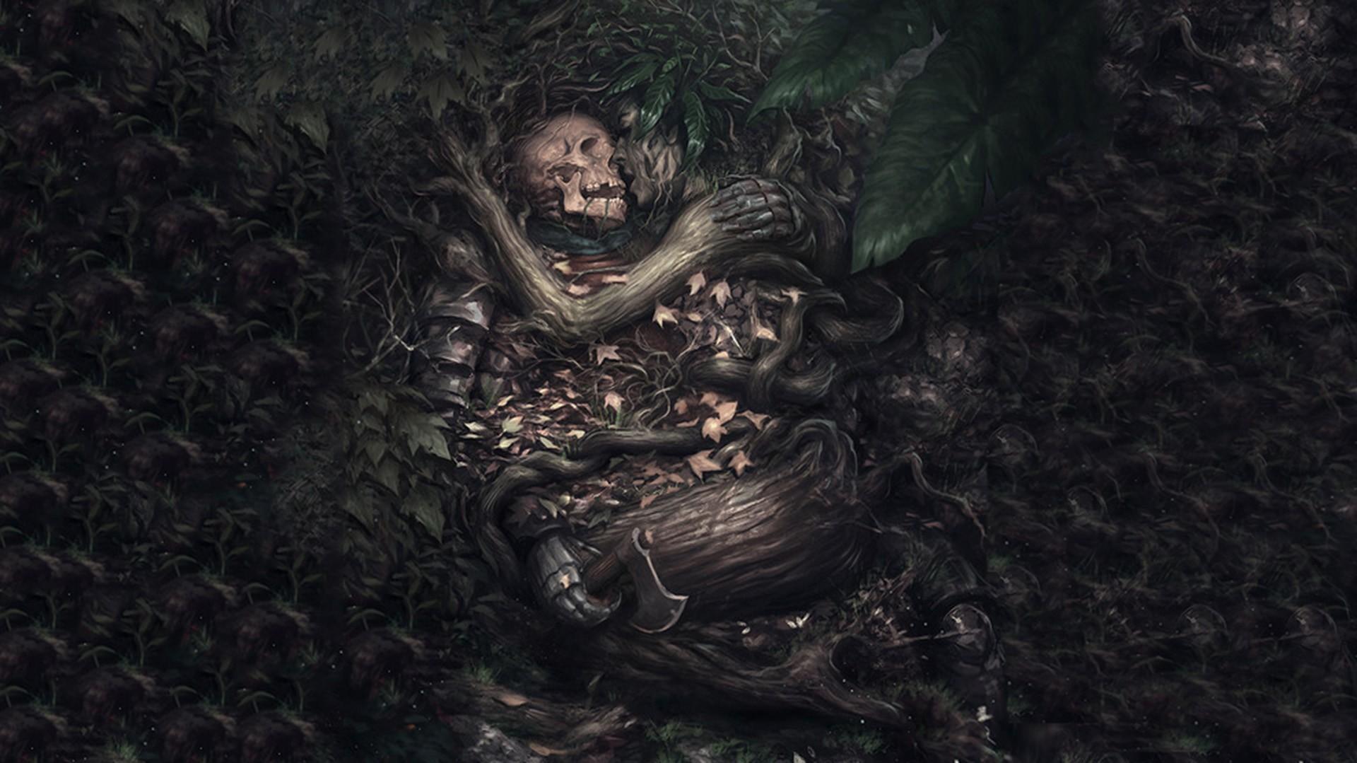 Cool Wallpaper Love Fantasy - painting-fantasy-art-horror-love-artwork-wood-skull-jungle-mythology-darkness-screenshot-fictional-character-182970  Photograph_873021.jpg