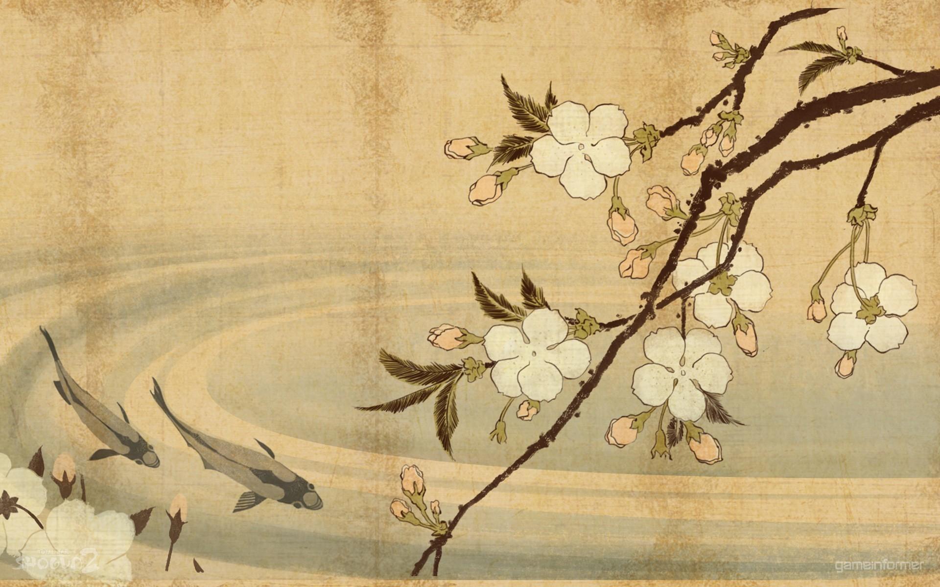 Fond d 39 cran la peinture fleurs minimalisme ouvrages for Minimalisme art