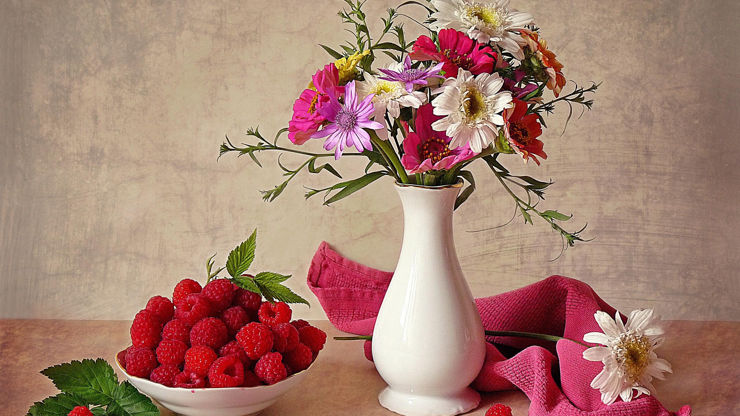 Wallpaper  painting red artwork vases fruit pink raspberries bouquets ART flora petal peony flowering plant floristry still life ... & Wallpaper : painting red artwork vases fruit pink raspberries ...