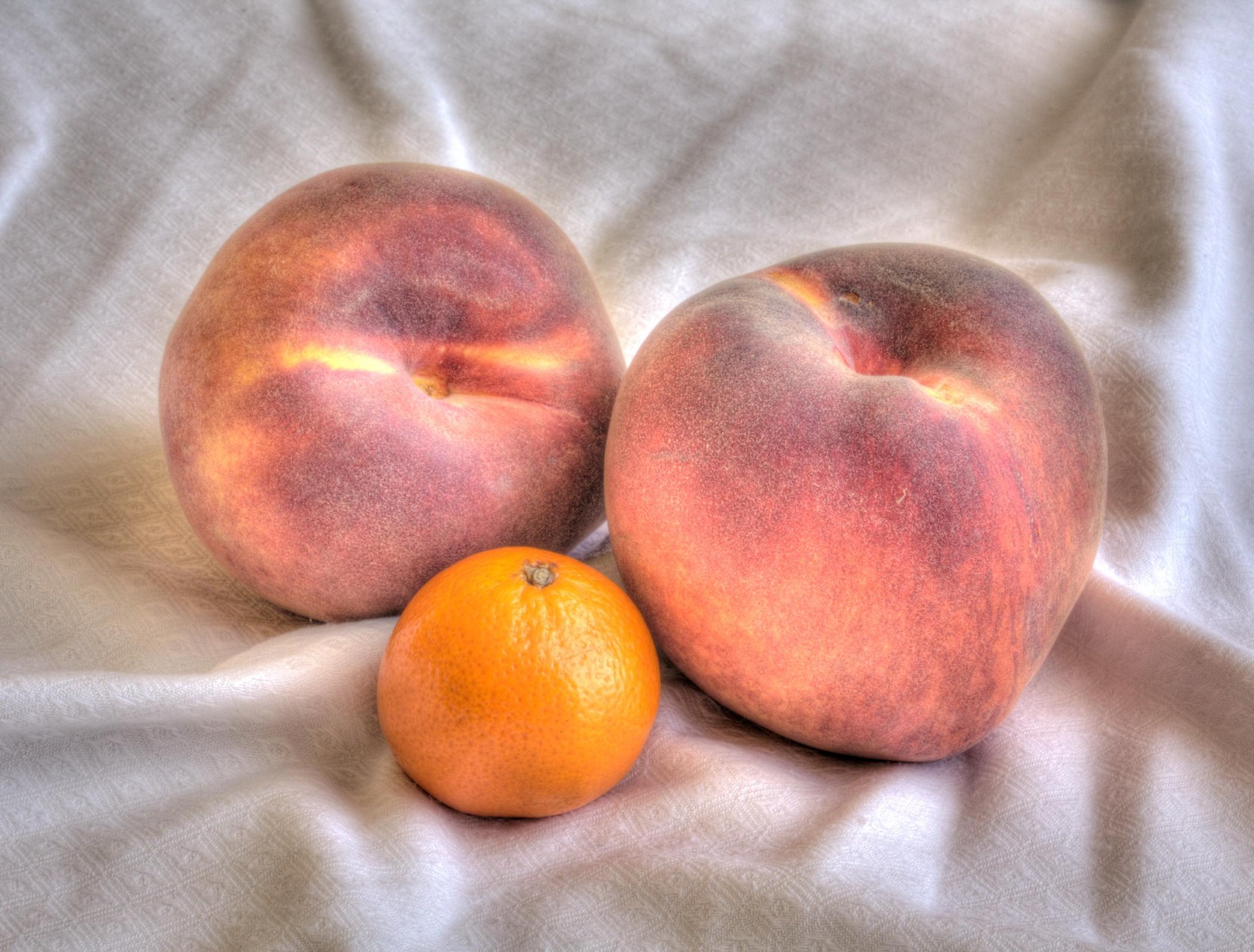 Masaüstü Boyama Gıda Meyve Mandalina şeftali üretmek Kara