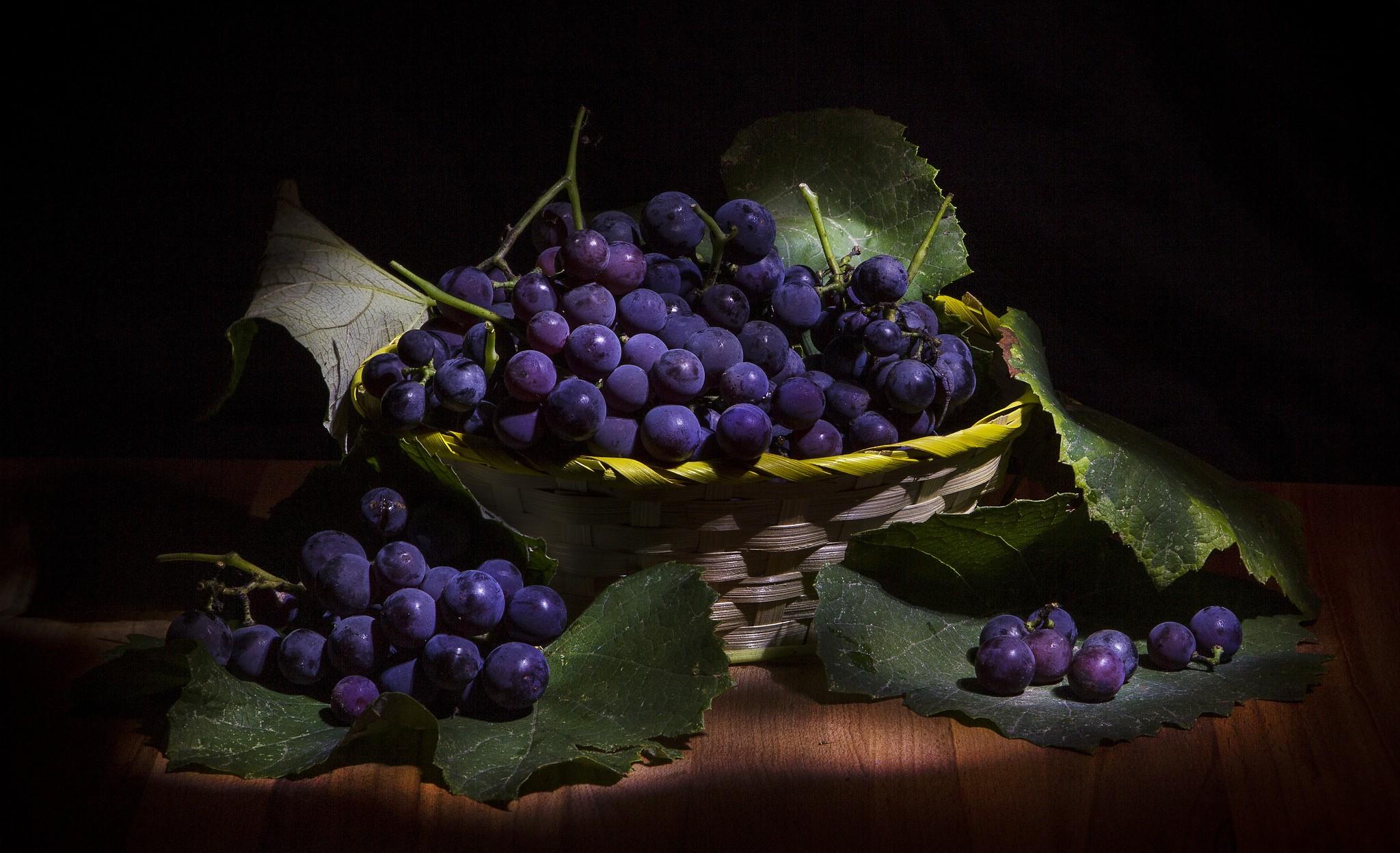 Masaüstü Boyama Gıda Bitkiler Mor Meyve Yeşil Mavi üzüm