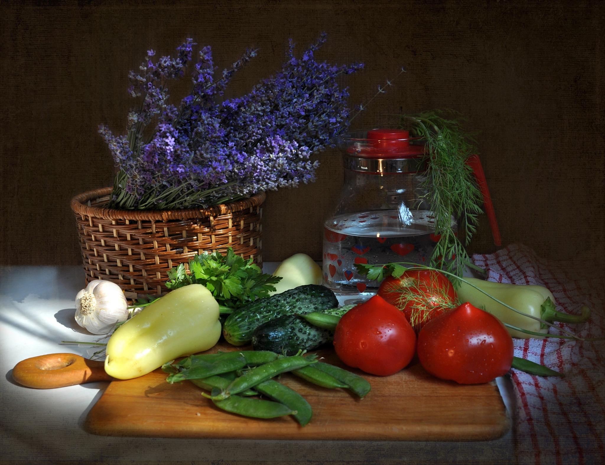 Hintergrundbilder : Malerei, Lebensmittel, Gemüse, Pfeffer, Korb ...