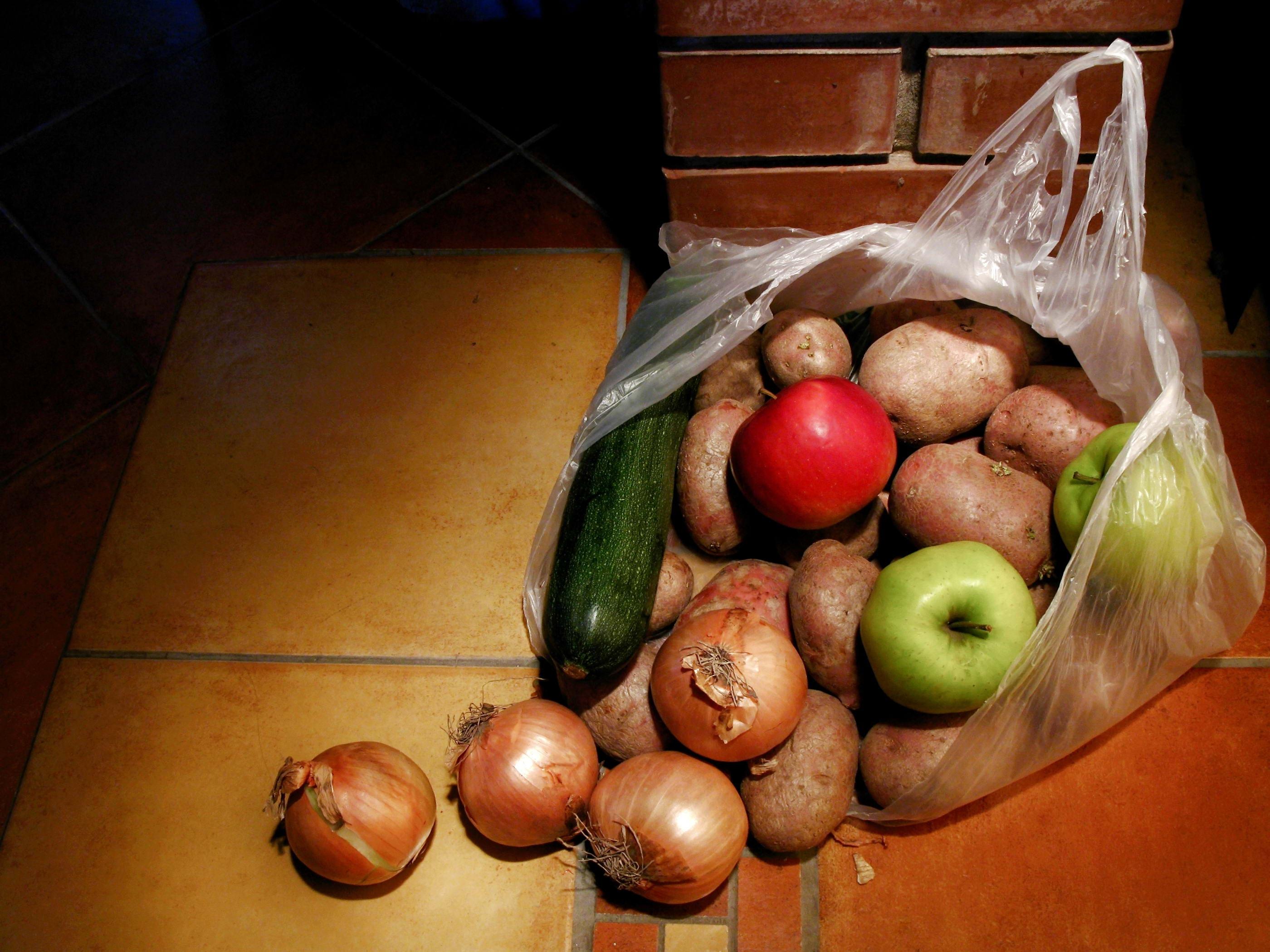 Hintergrundbilder : Malerei, Lebensmittel, Gemüse, Tasche, Früchte ...