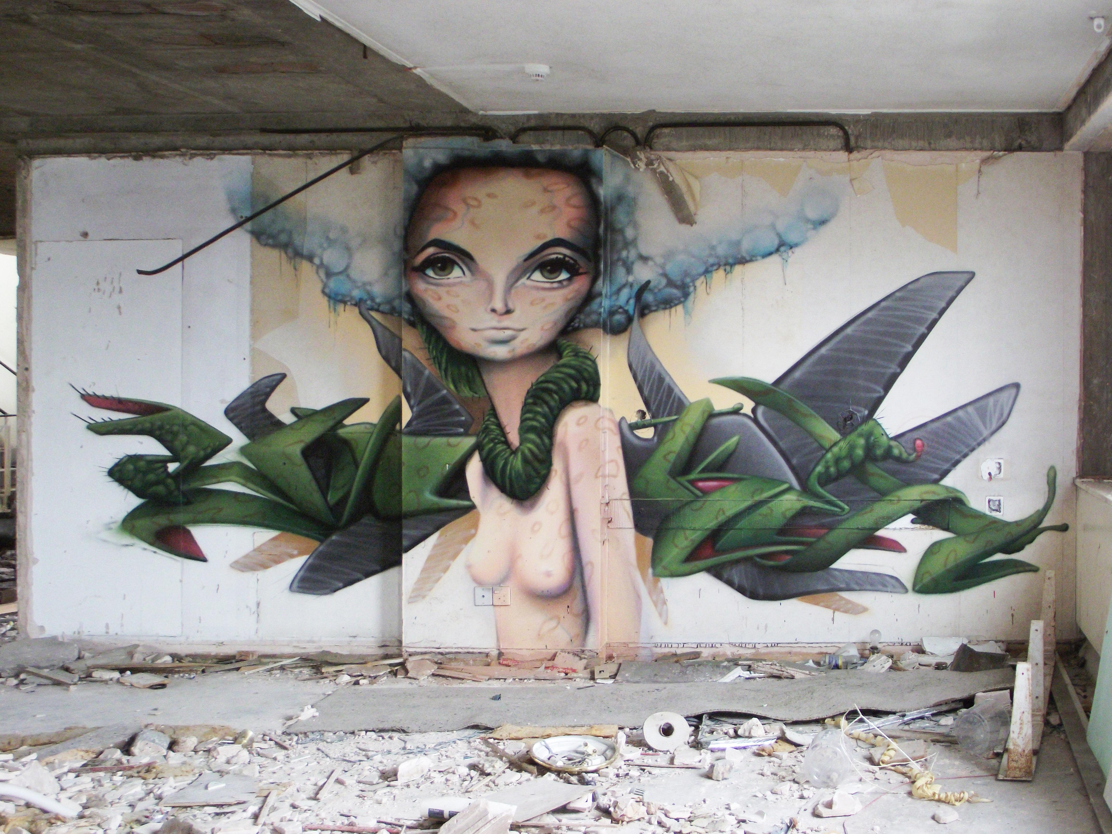 Papel De Parede Floresta Retrato Flores Abstrato Natureza  ~ Papel De Parede Grafite Para Quarto