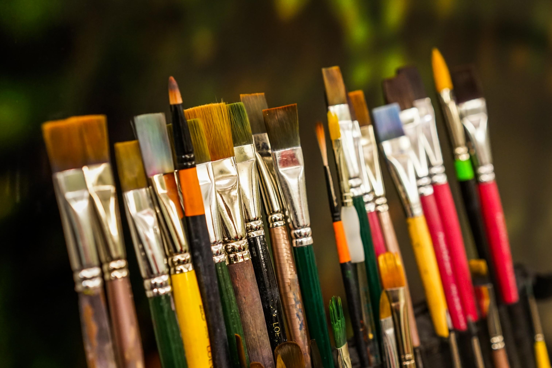 Ipad Retina Wallpaper Art Pain Brush: Masaüstü : Boyama, Yeşil, Instagram, Sony, Bokeh, SANAT