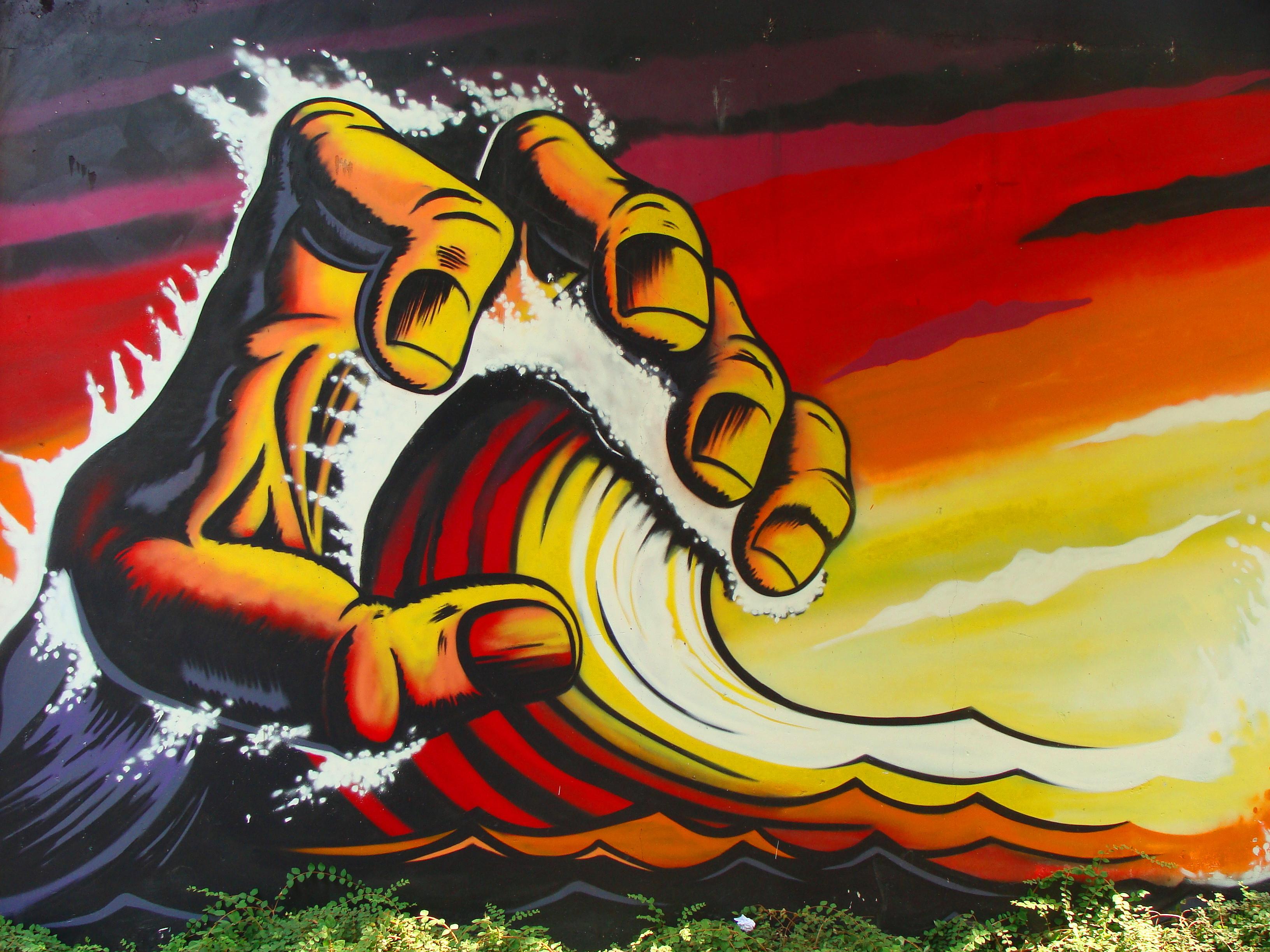 Wallpaper Painting Illustration Italy Artwork Yellow Graffiti