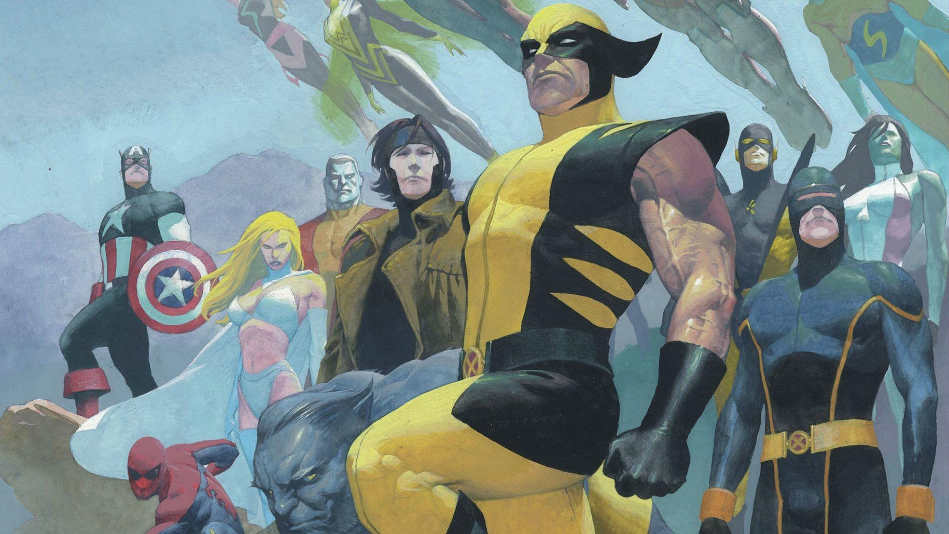 Masaüstü Boyama Illüstrasyon Anime Resim Wolverine Marvel