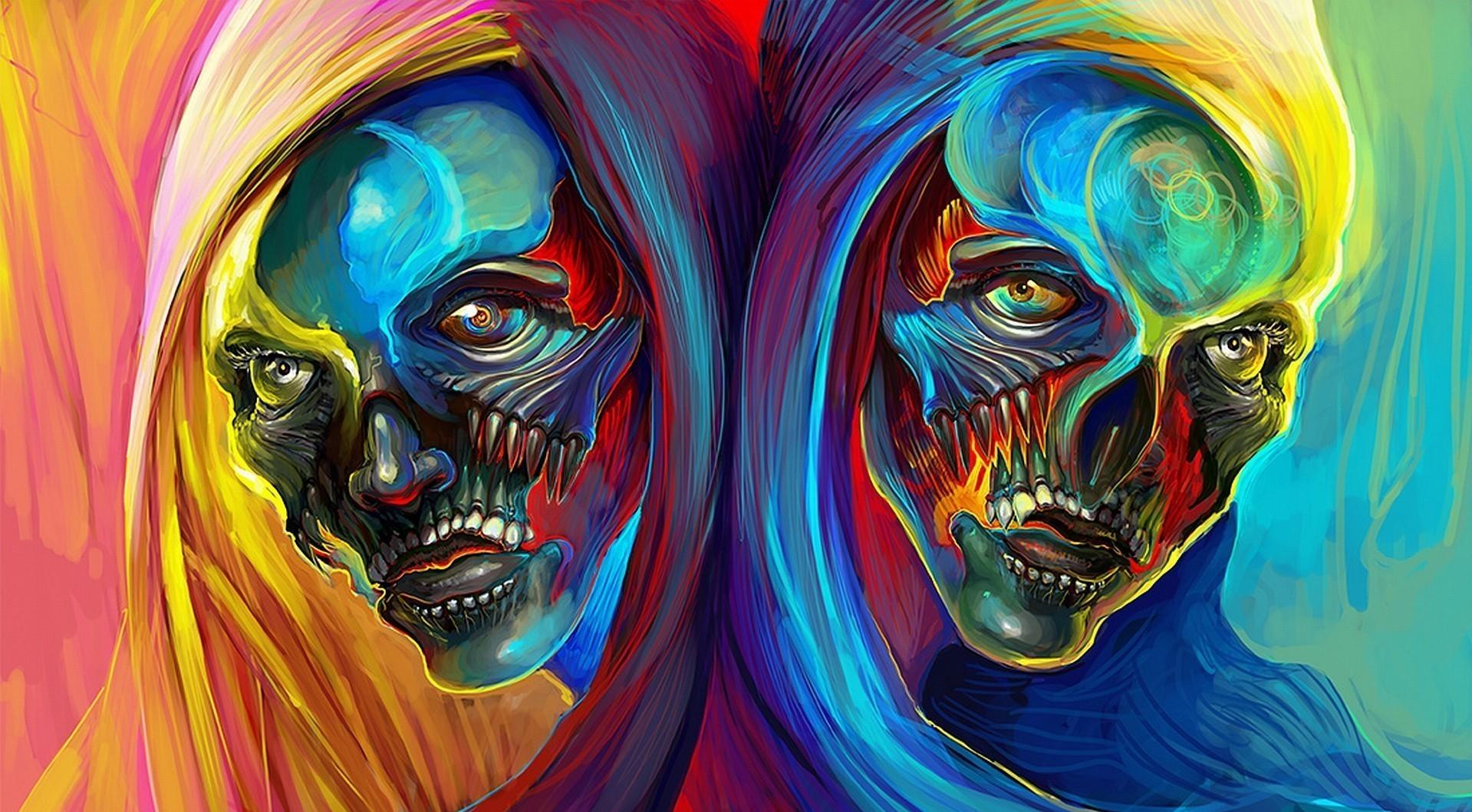психоделические люди картинки вижу, какая