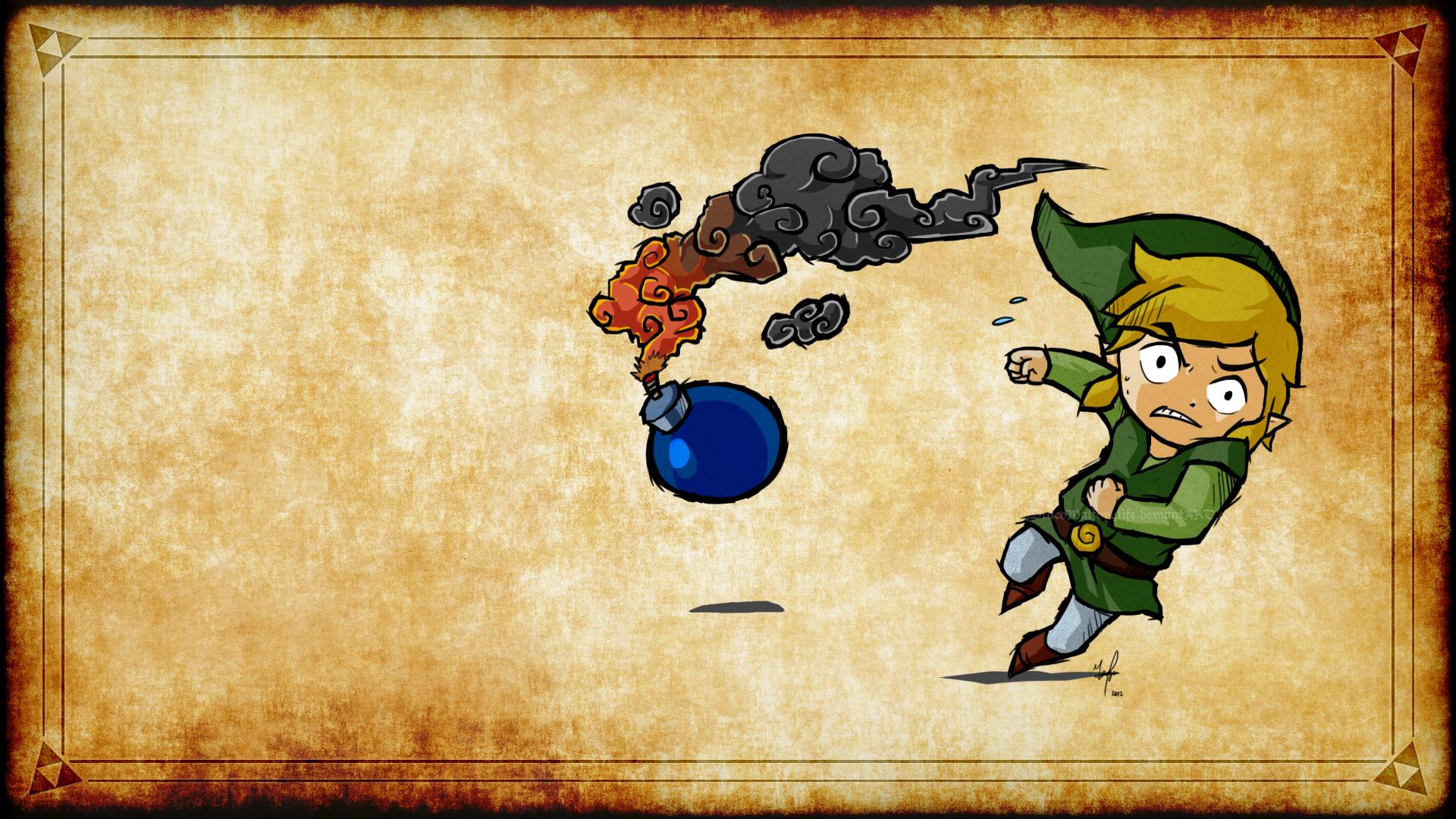 Masaustu Boyama Illustrasyon Video Oyunlari Desen Zelda
