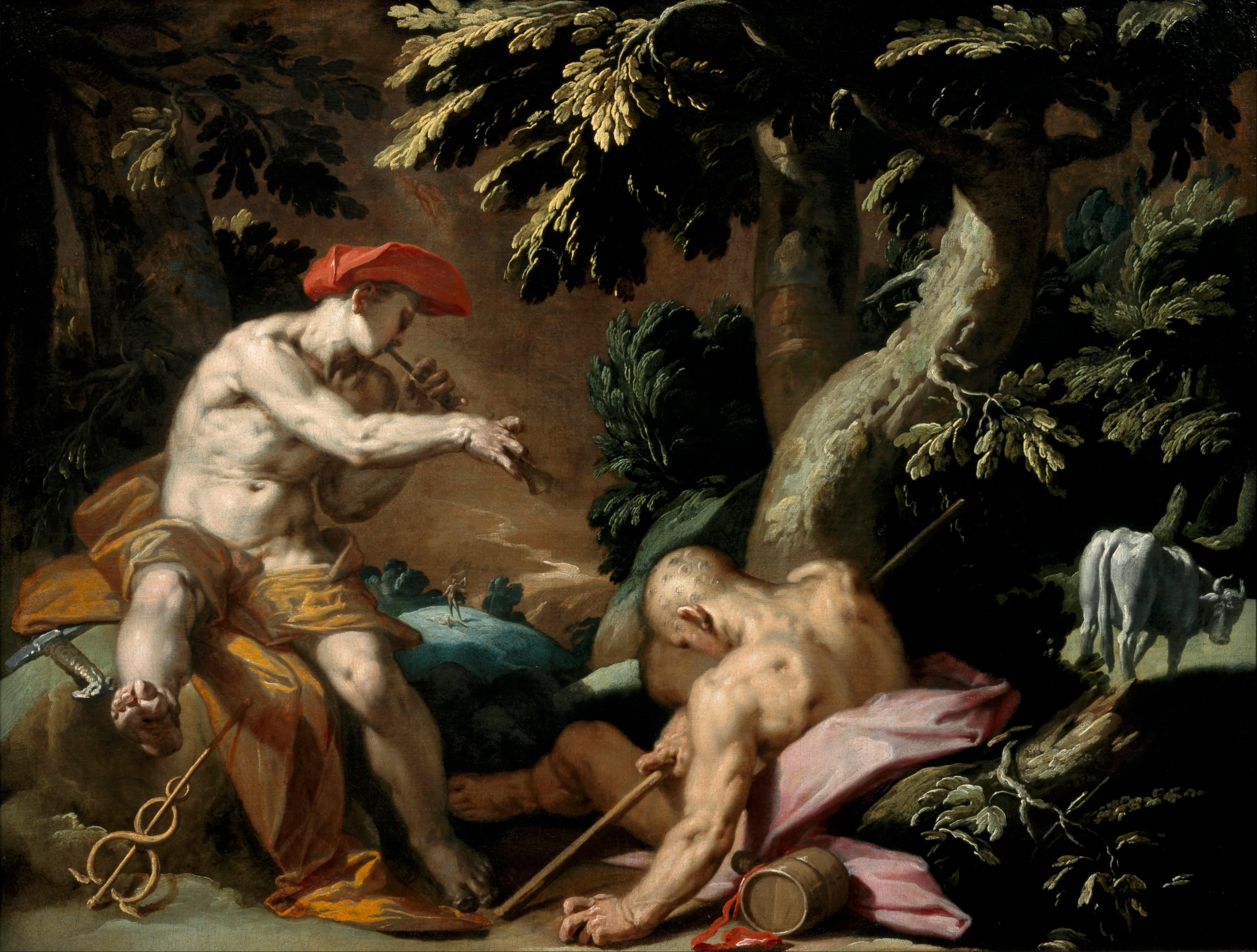 Wallpaper Painting Greek Mythology Hermes Screenshot