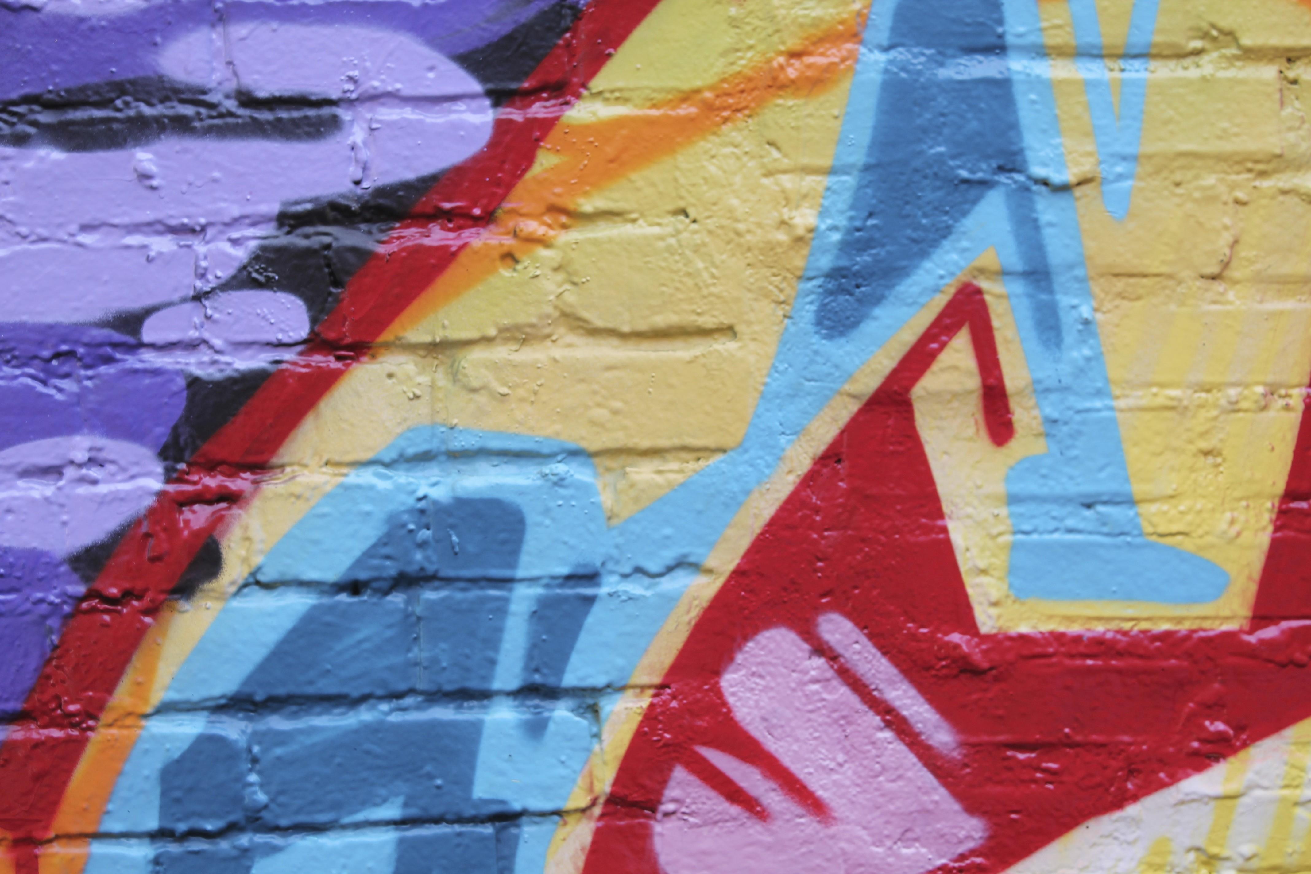 Hintergrundbilder : Malerei, rot, Mauer, Graffiti, Wandgemälde ...