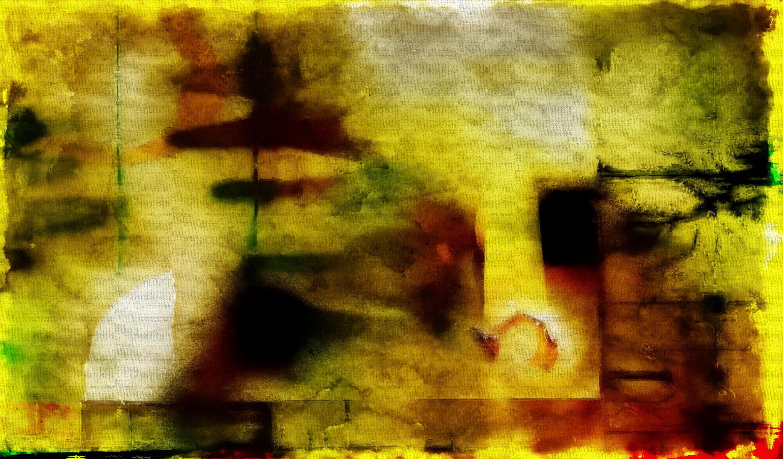 Fond Décran La Peinture Roche Mur Jaune Texture Art Couleur
