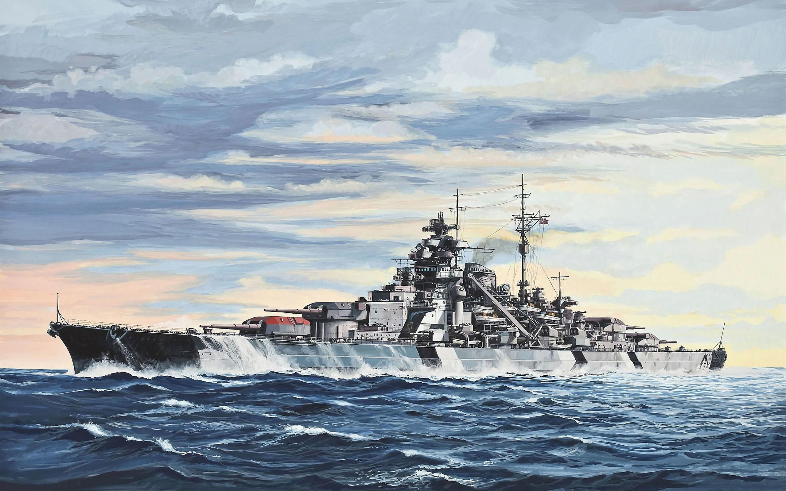 Masaüstü Boyama Gemi Deniz Araç Resim Askeri Savaş Gemisi